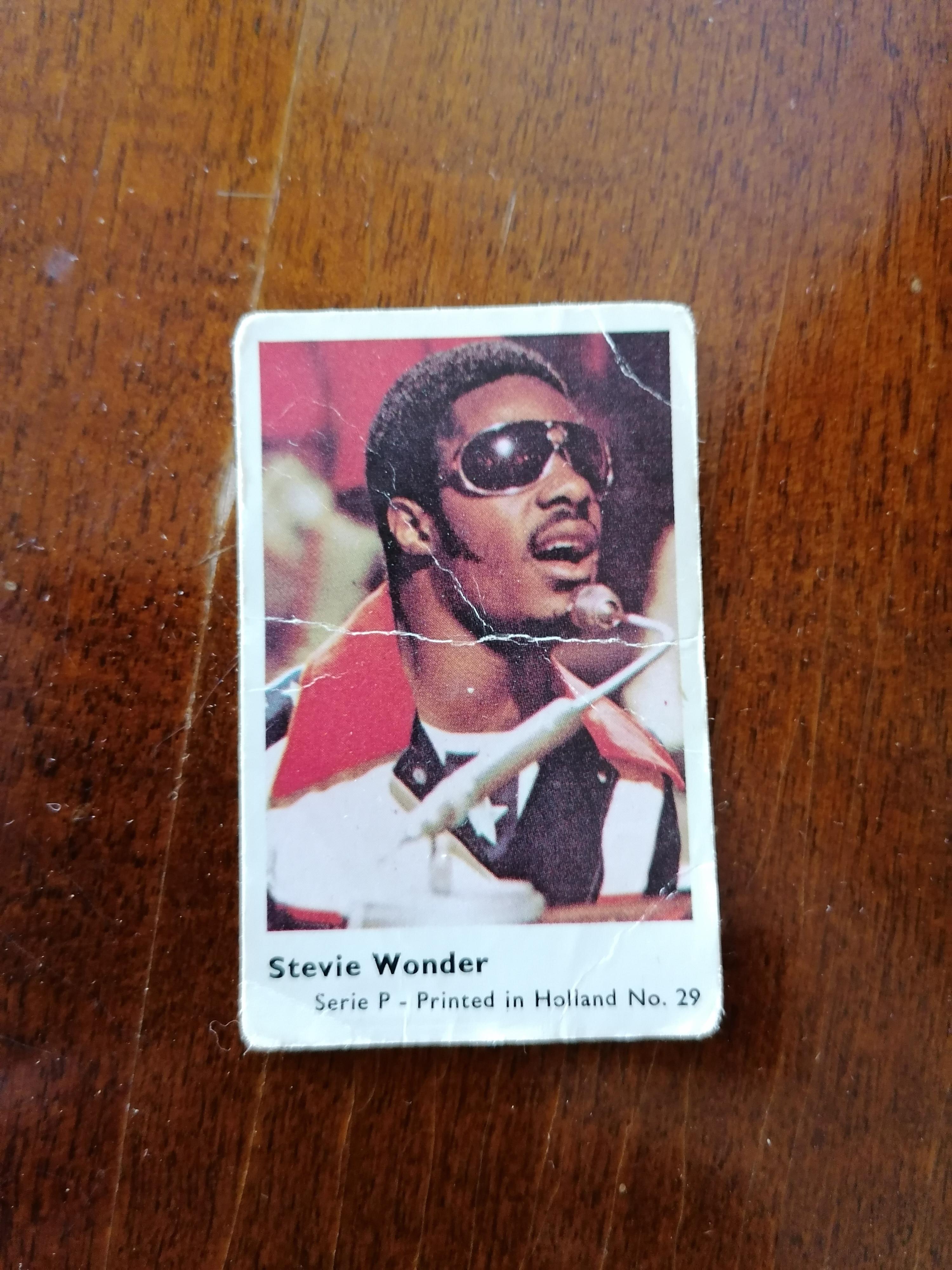 Filmstjärnor Stevie Wonder