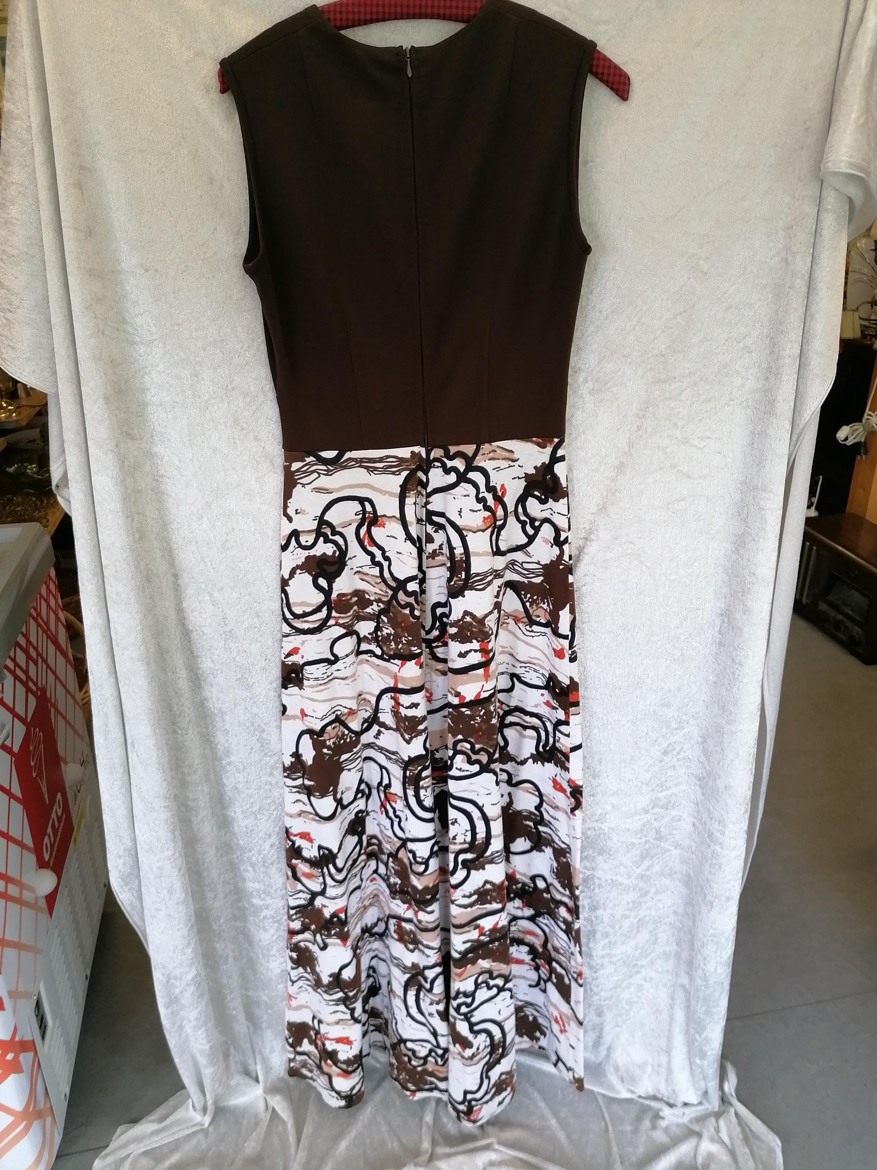 Vintage Maxiklänning strl 40-42