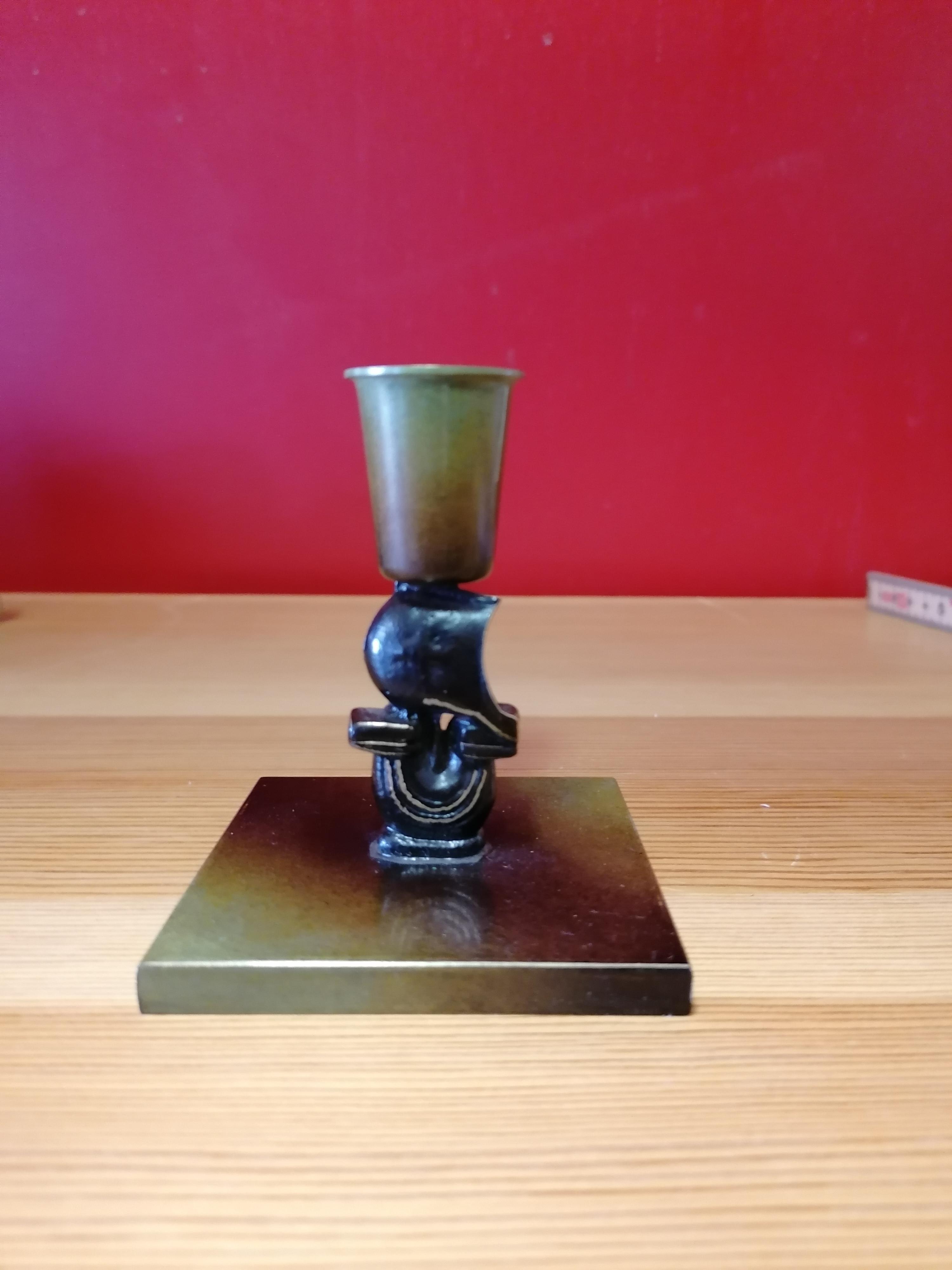 Ljusstake från Ystad brons