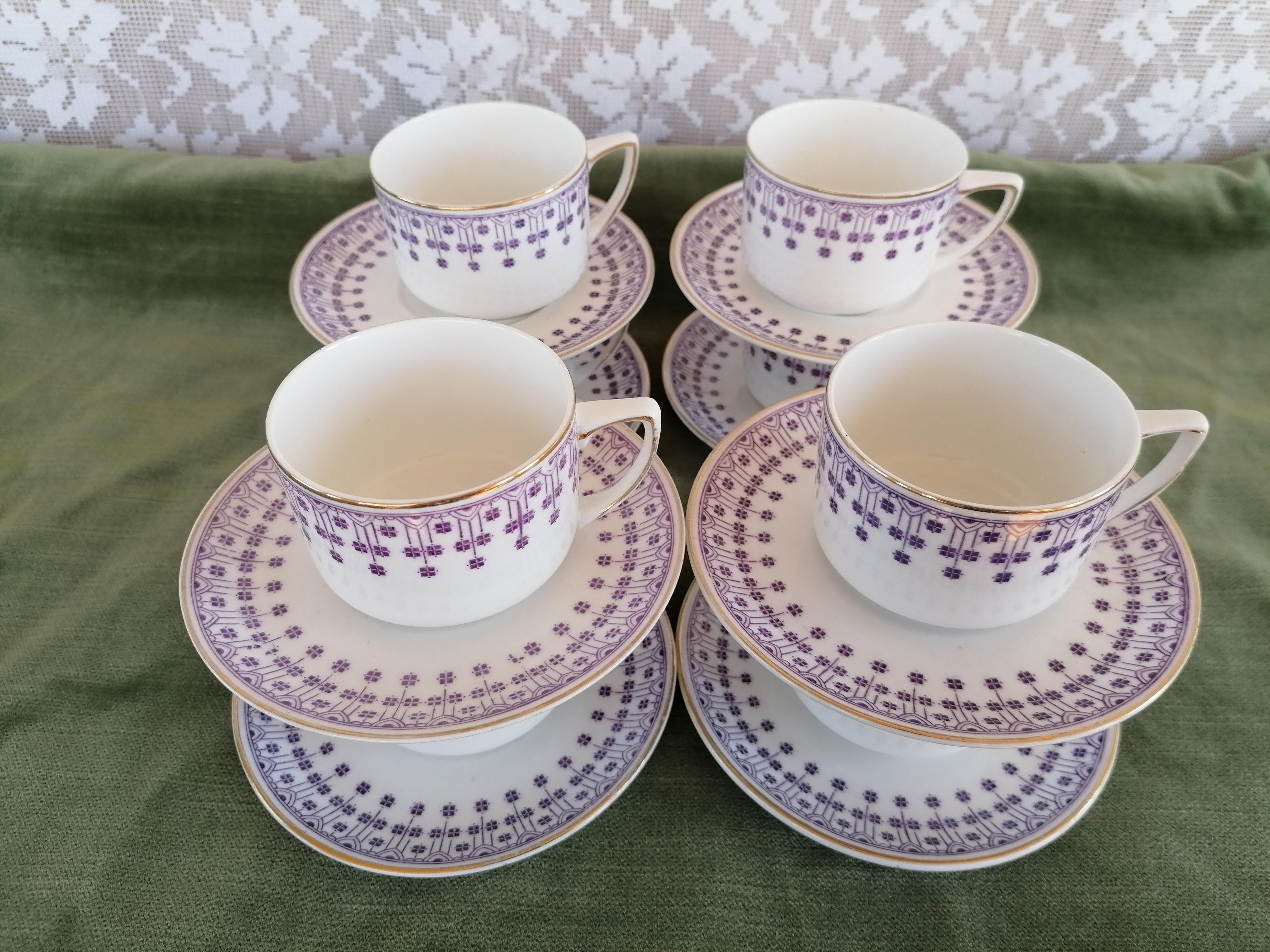 Kaffegods 8 kopp med fat Rörstrand