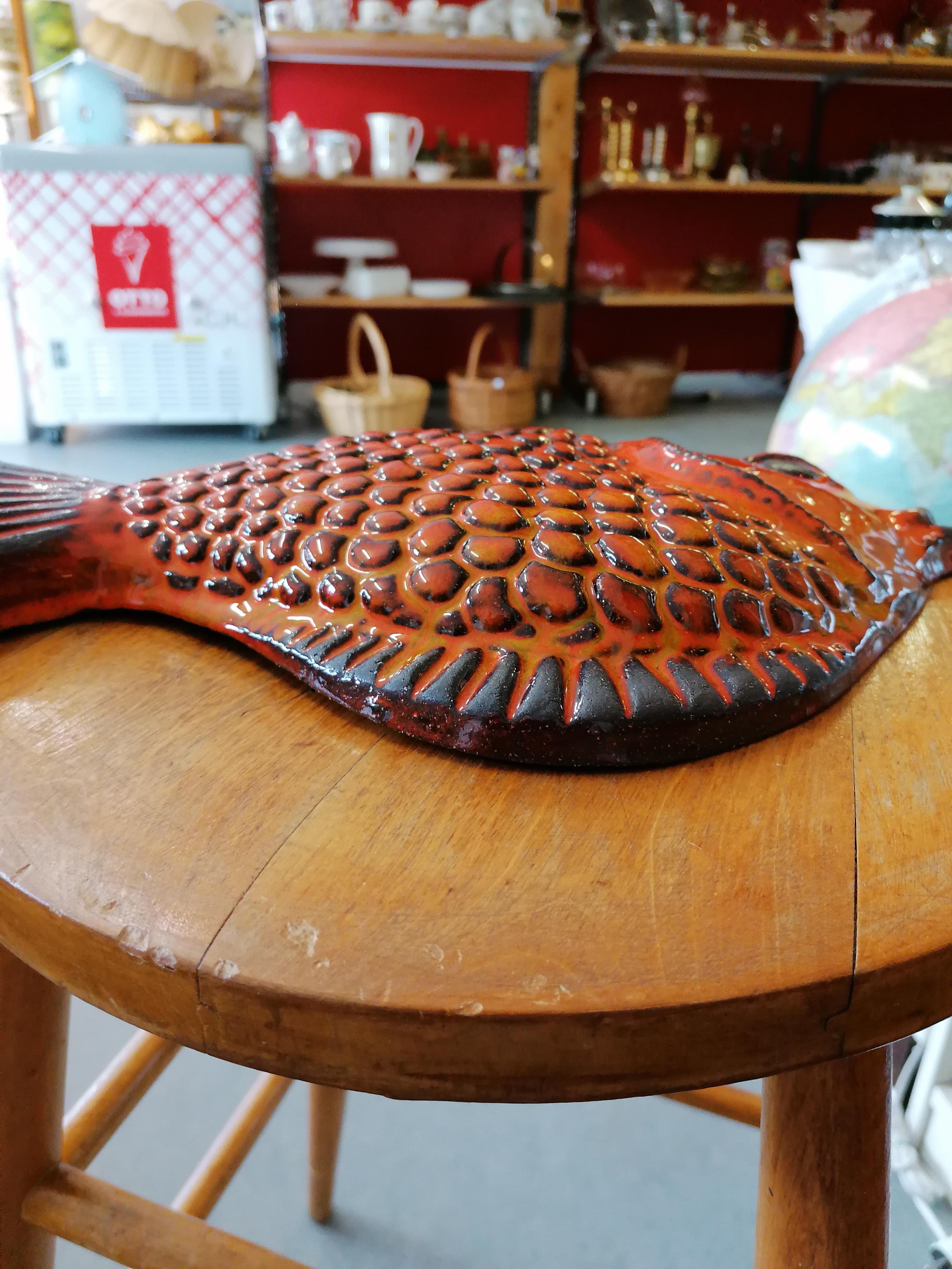 Fisk Norrman keramik Motala