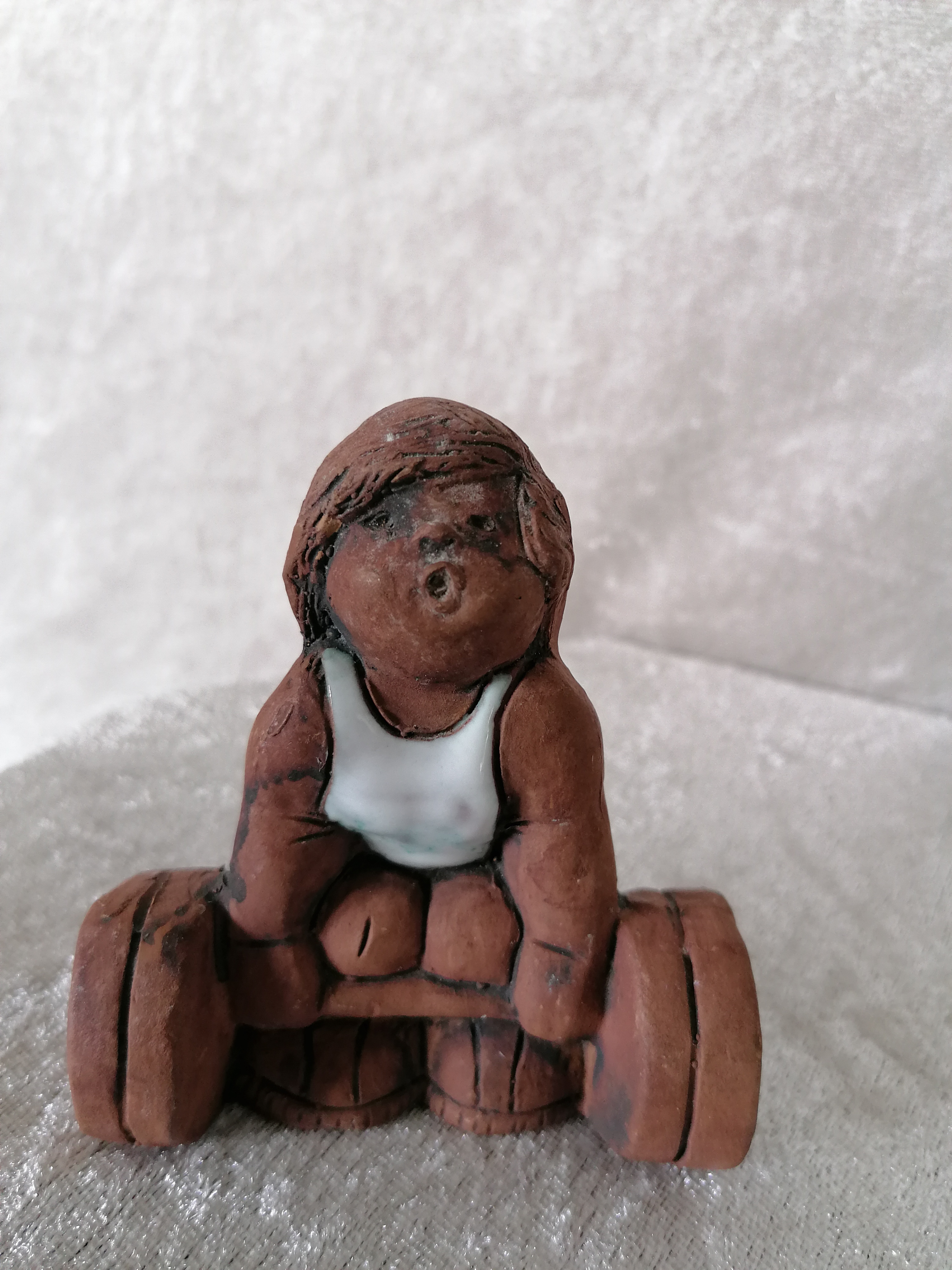 Figurin Tyngdlyftare Jie