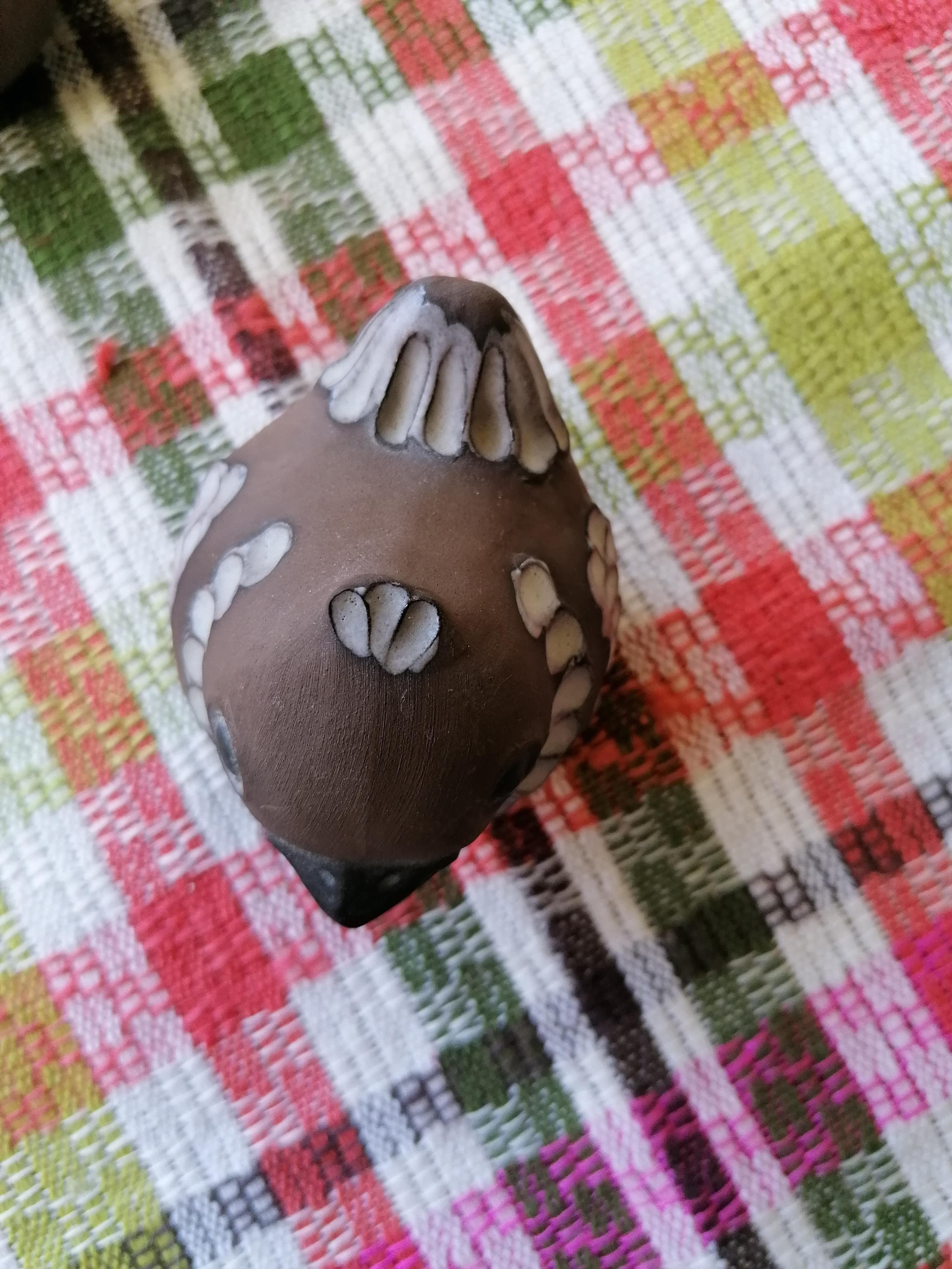 Fågelpar från Norrmans keramik i Motala