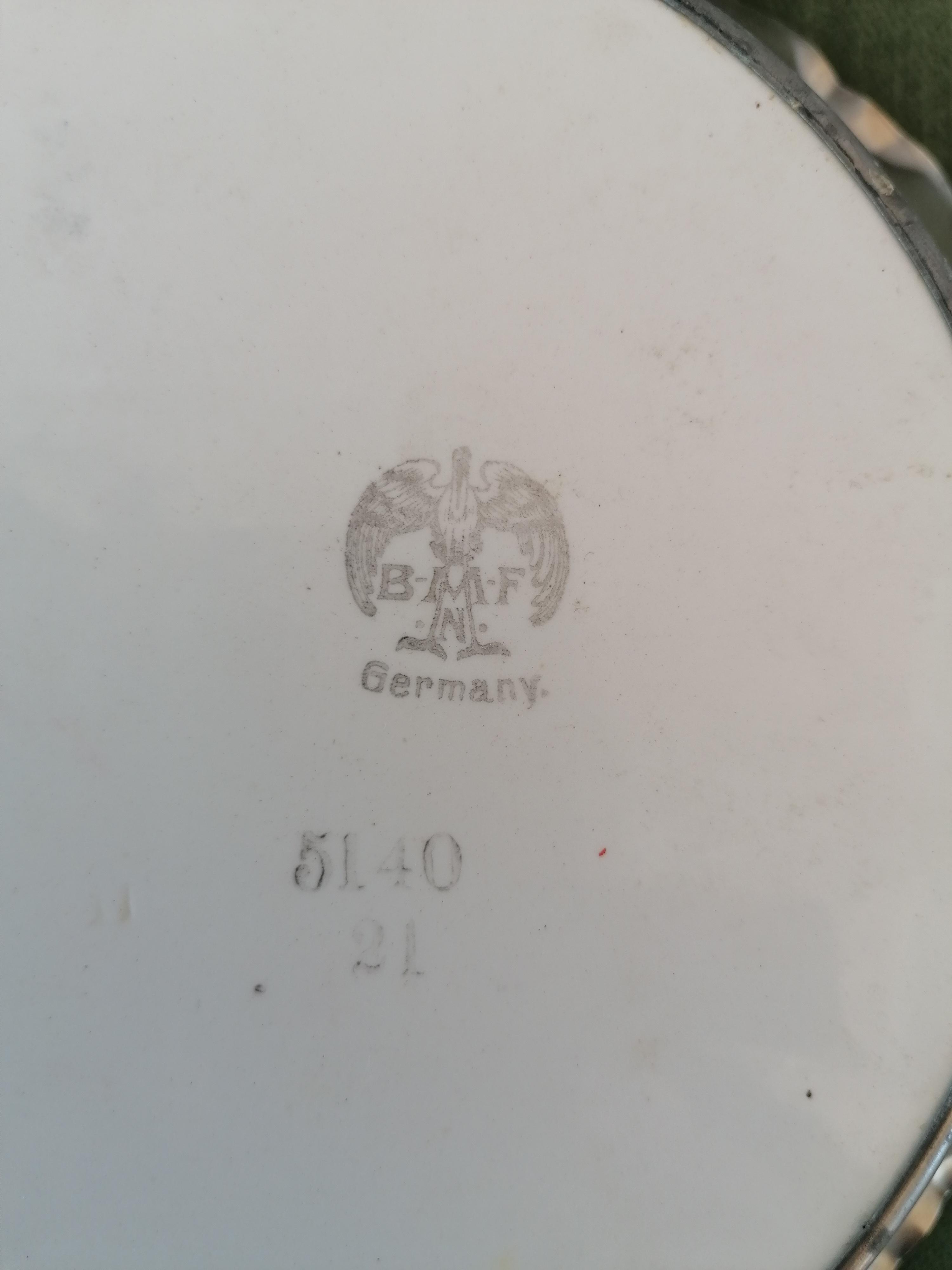 Fat handmålat BMF Germany