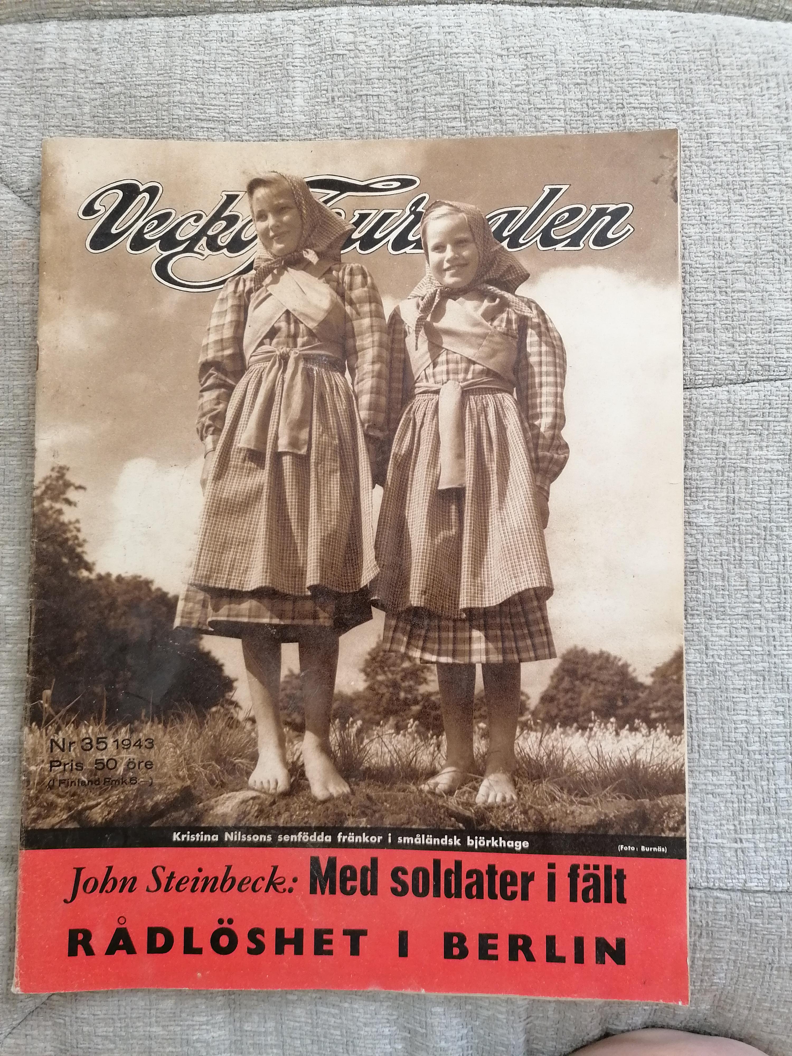 Veckojournalen Nr 35 1943