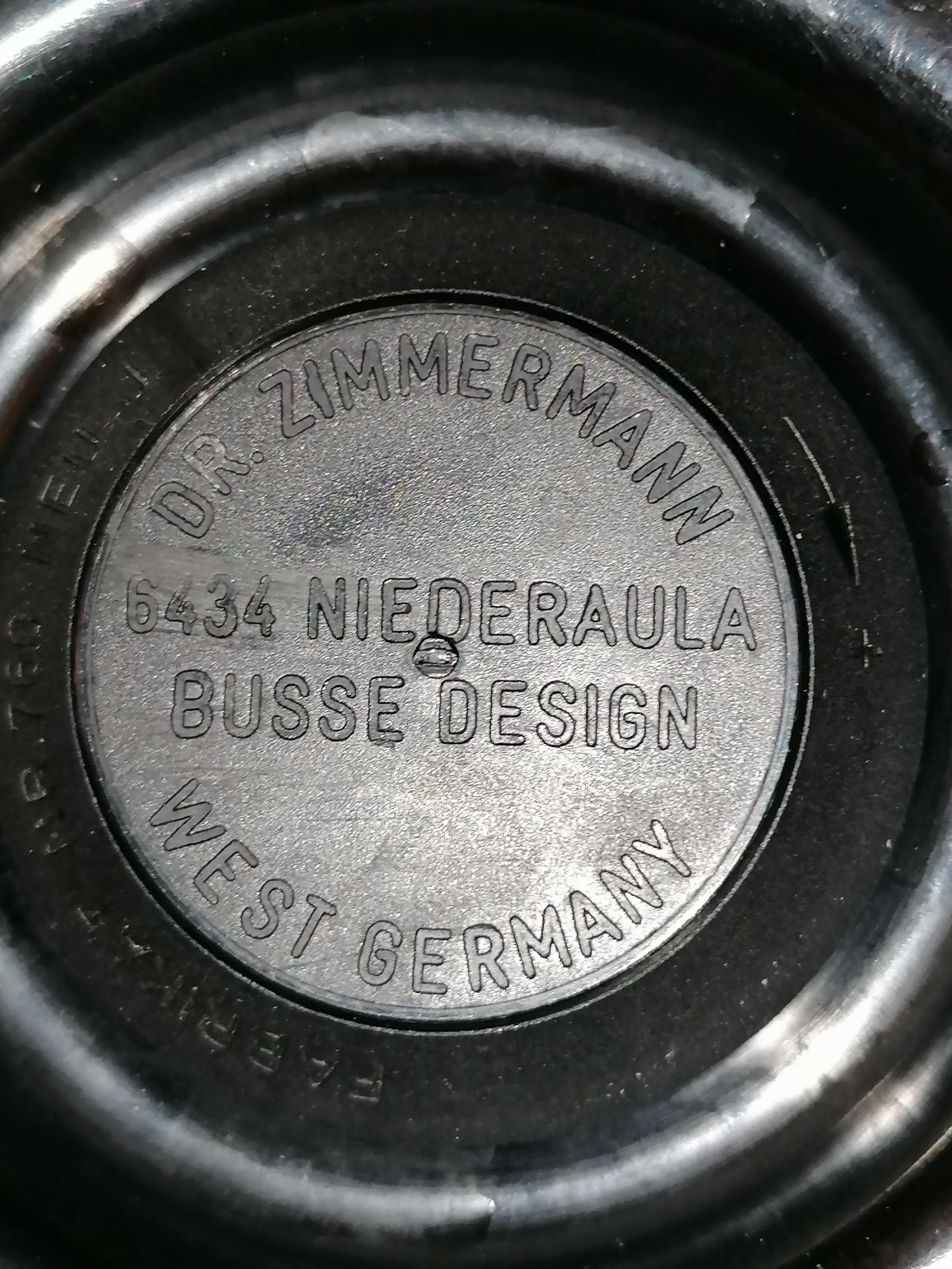 Retro termos från väst Tyskland Dr Zimmerman Busse Design