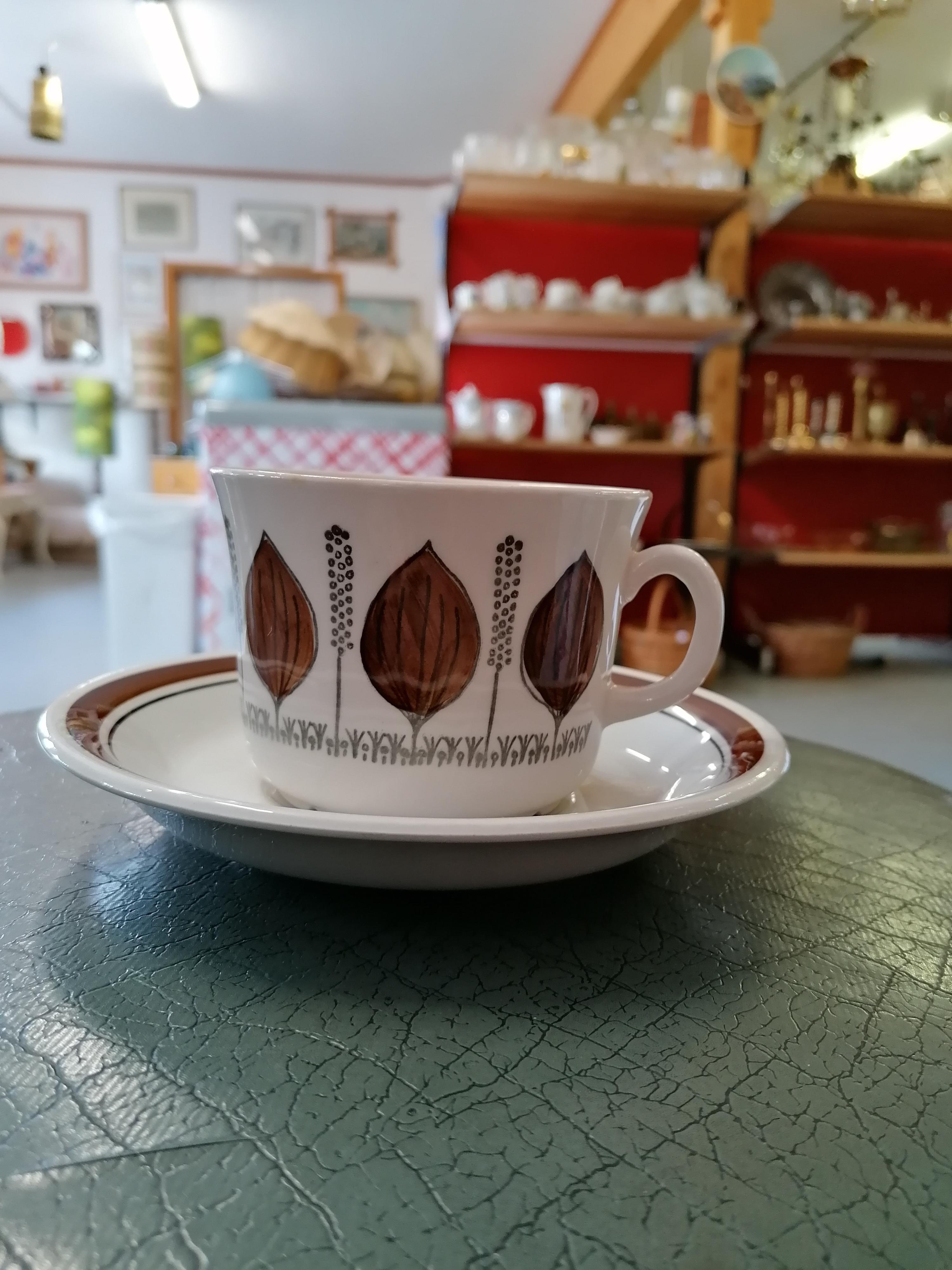 Te kopp Groblad från Gefle Barbro Löfgren-Örtendahl