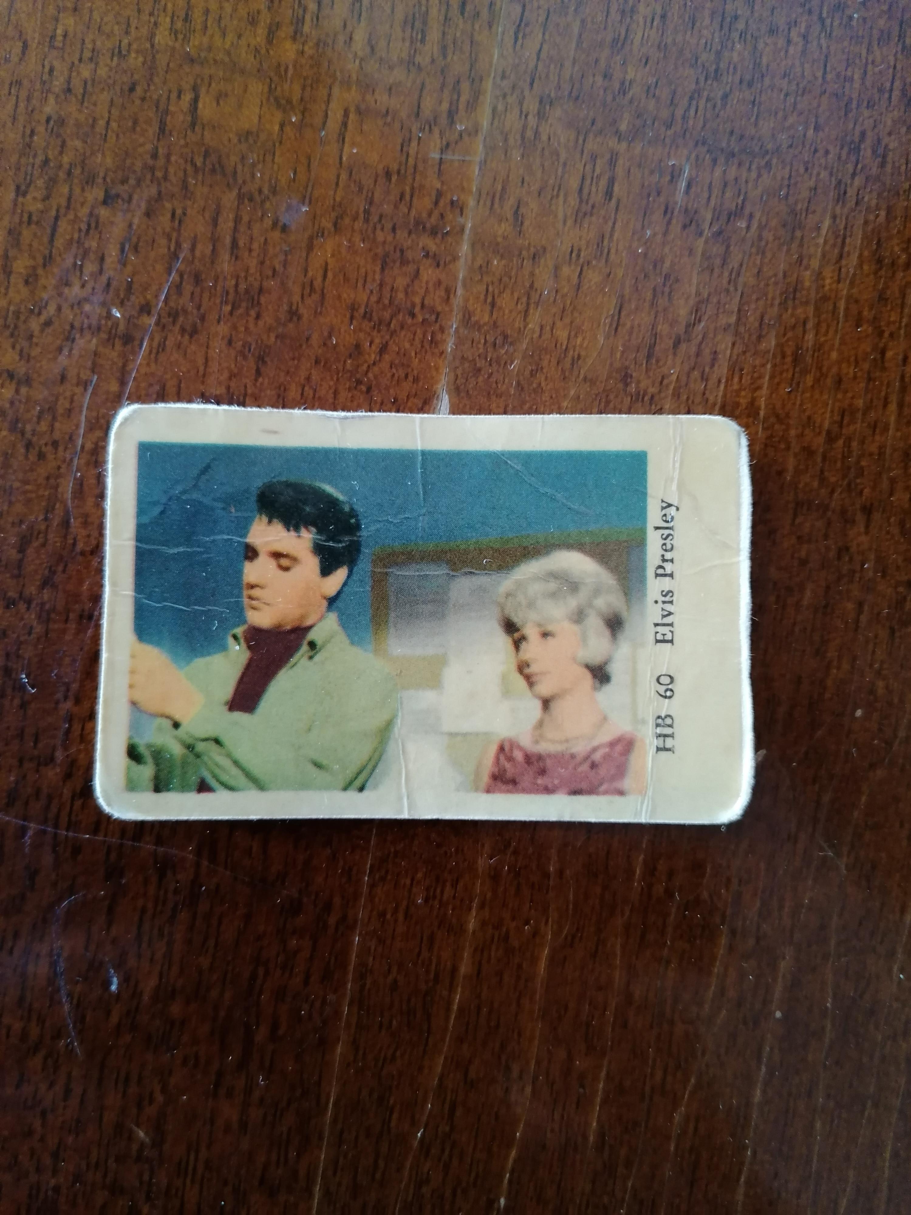 Filmstjärnor Elvis HB 60