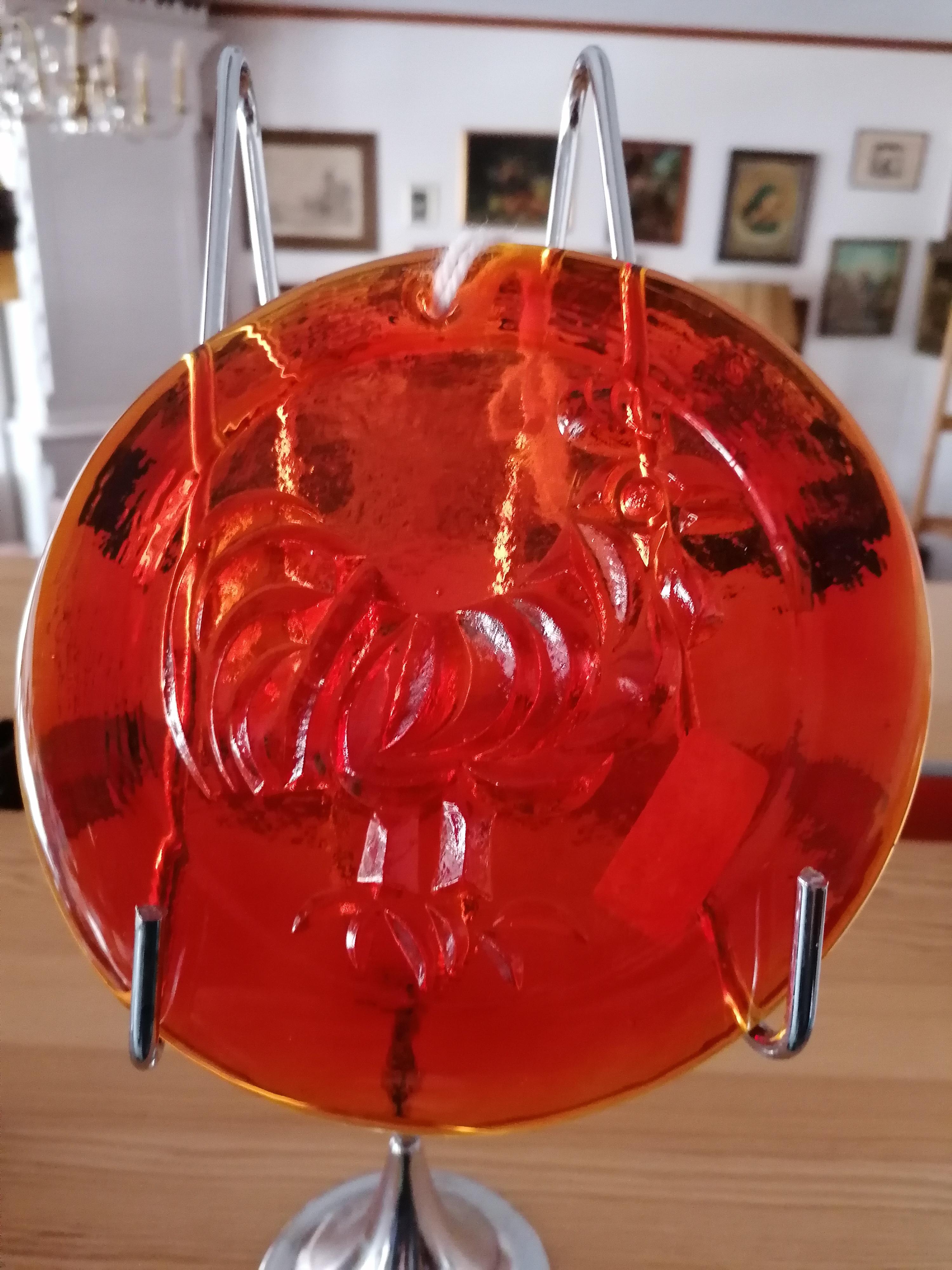 Fönsterhänge Lindshammars glasbruk