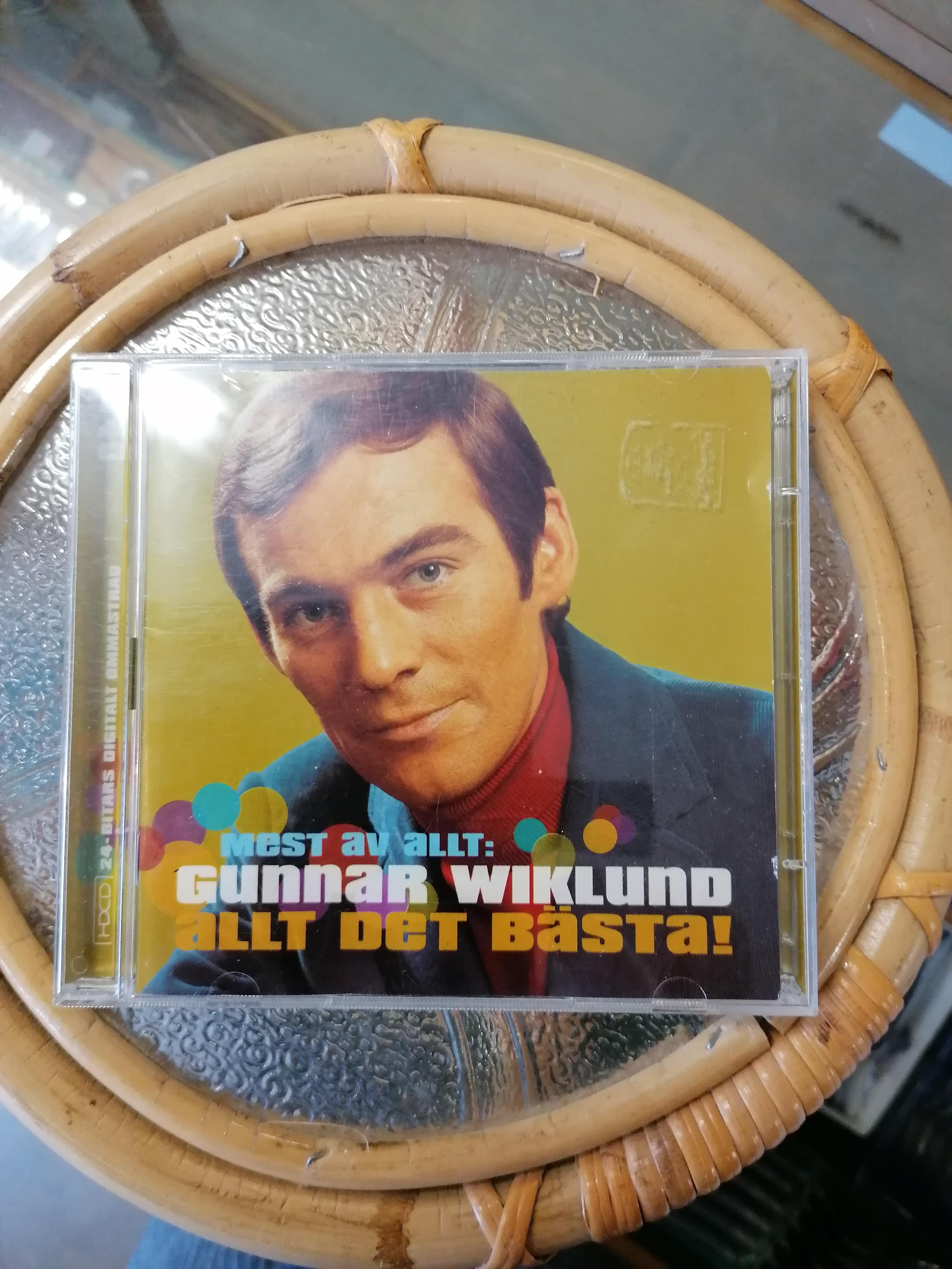 Dubbel CD med Gunnar Wiklund