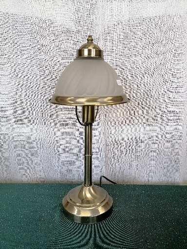 Lampa i metall och frostat glas Cottex