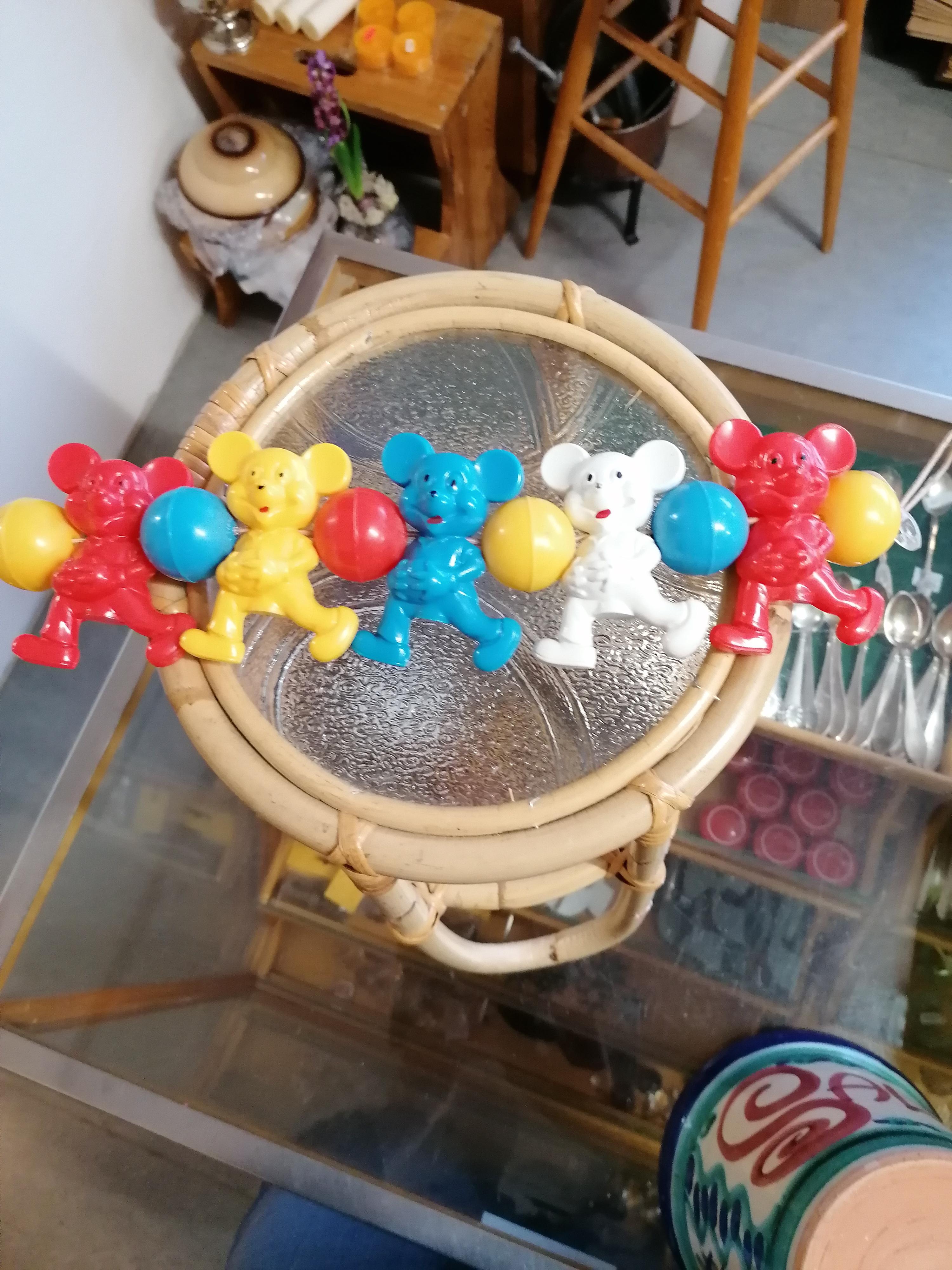 Leksak för barnvagn Musse Pigg