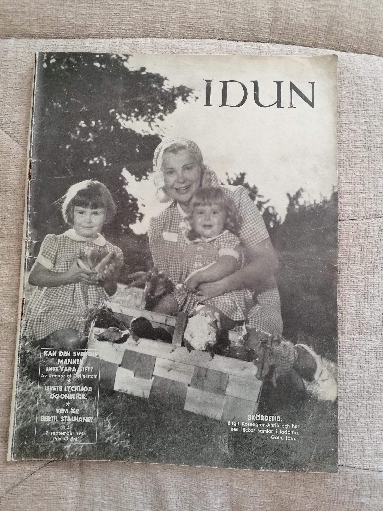 Idun Nr 35 1943