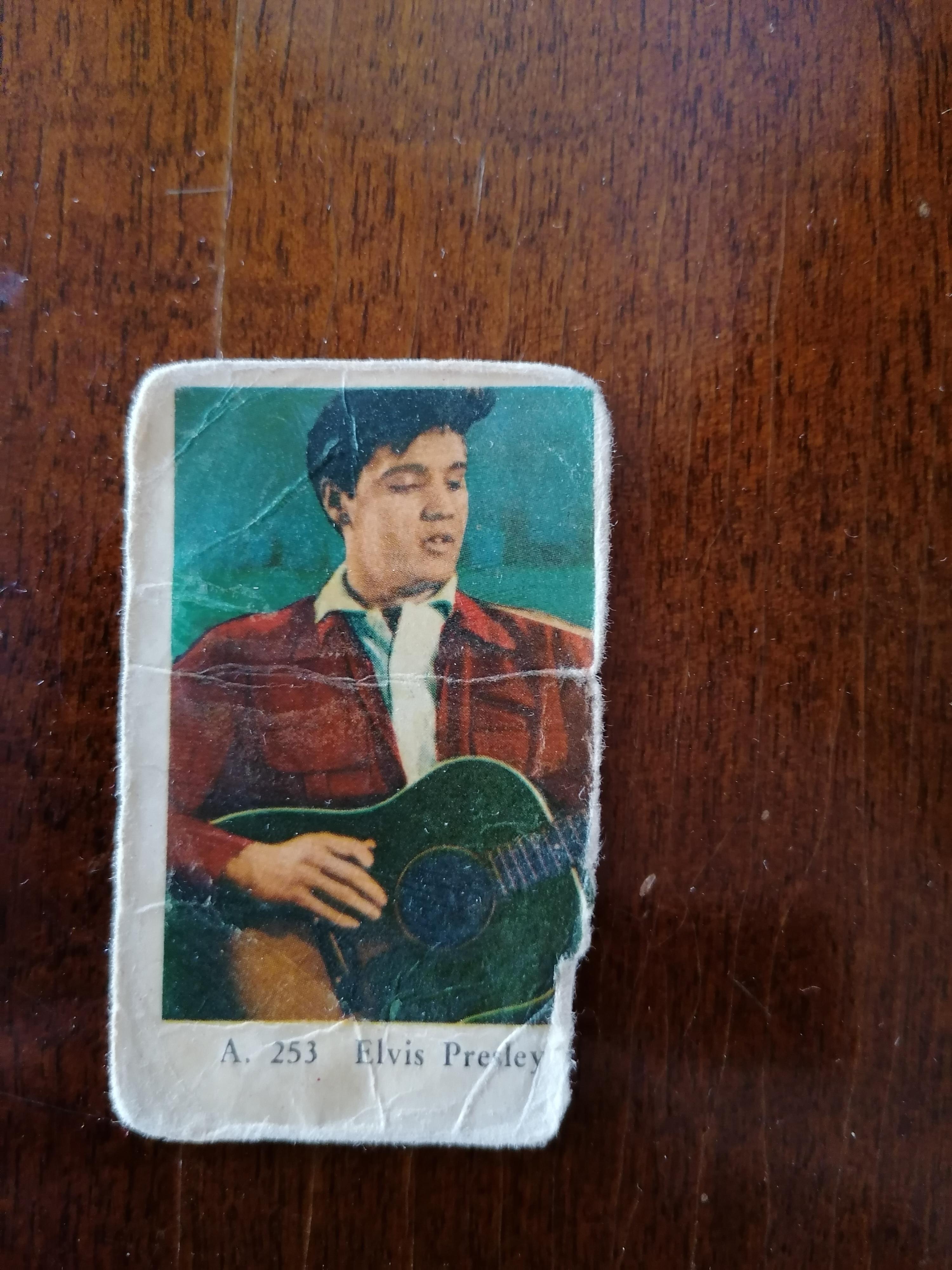Filmstjärnor Elvis A253