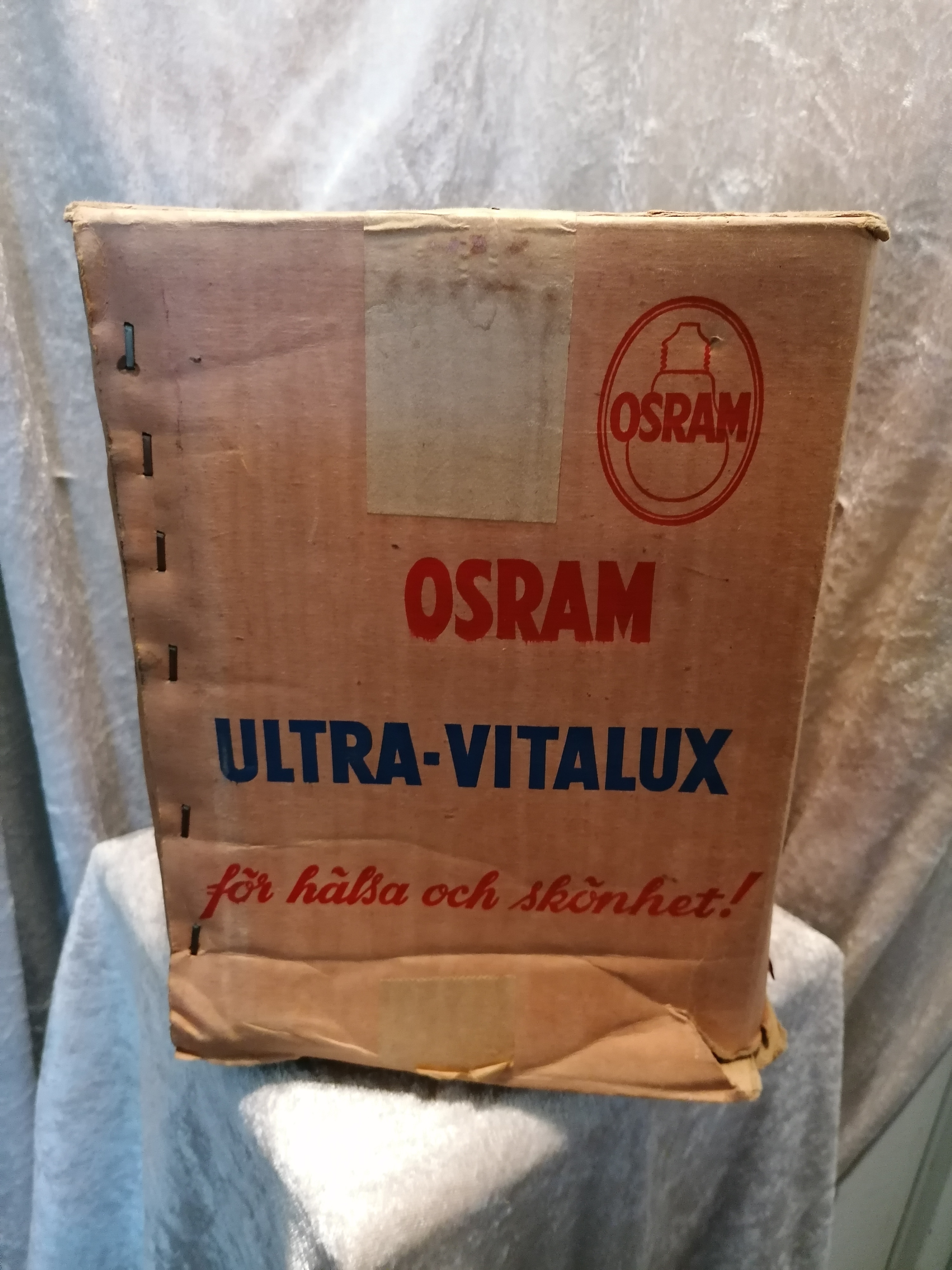 Sollampa 50-tal Osram