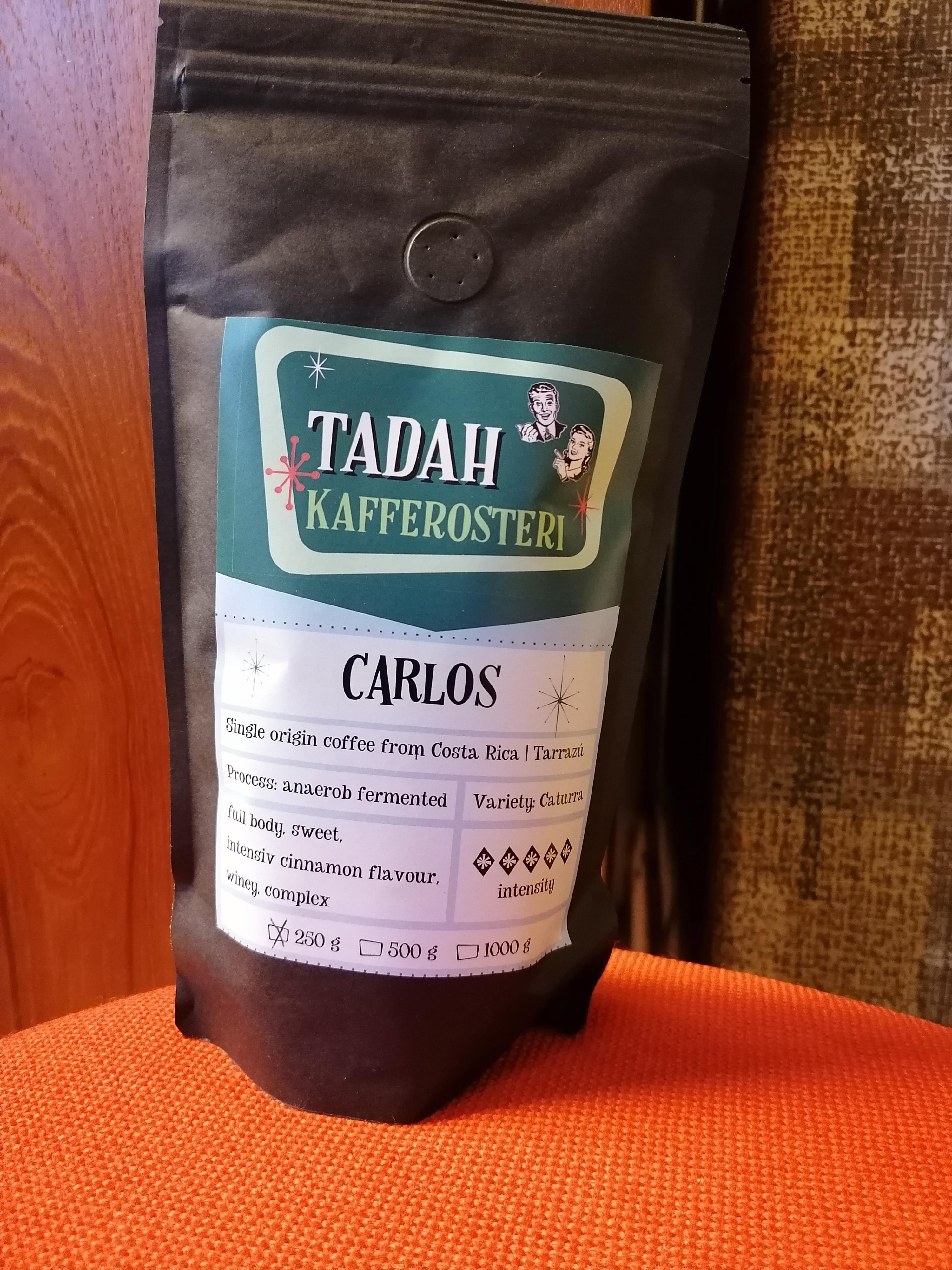 Tadahs Kaffe Carlos hela bönor