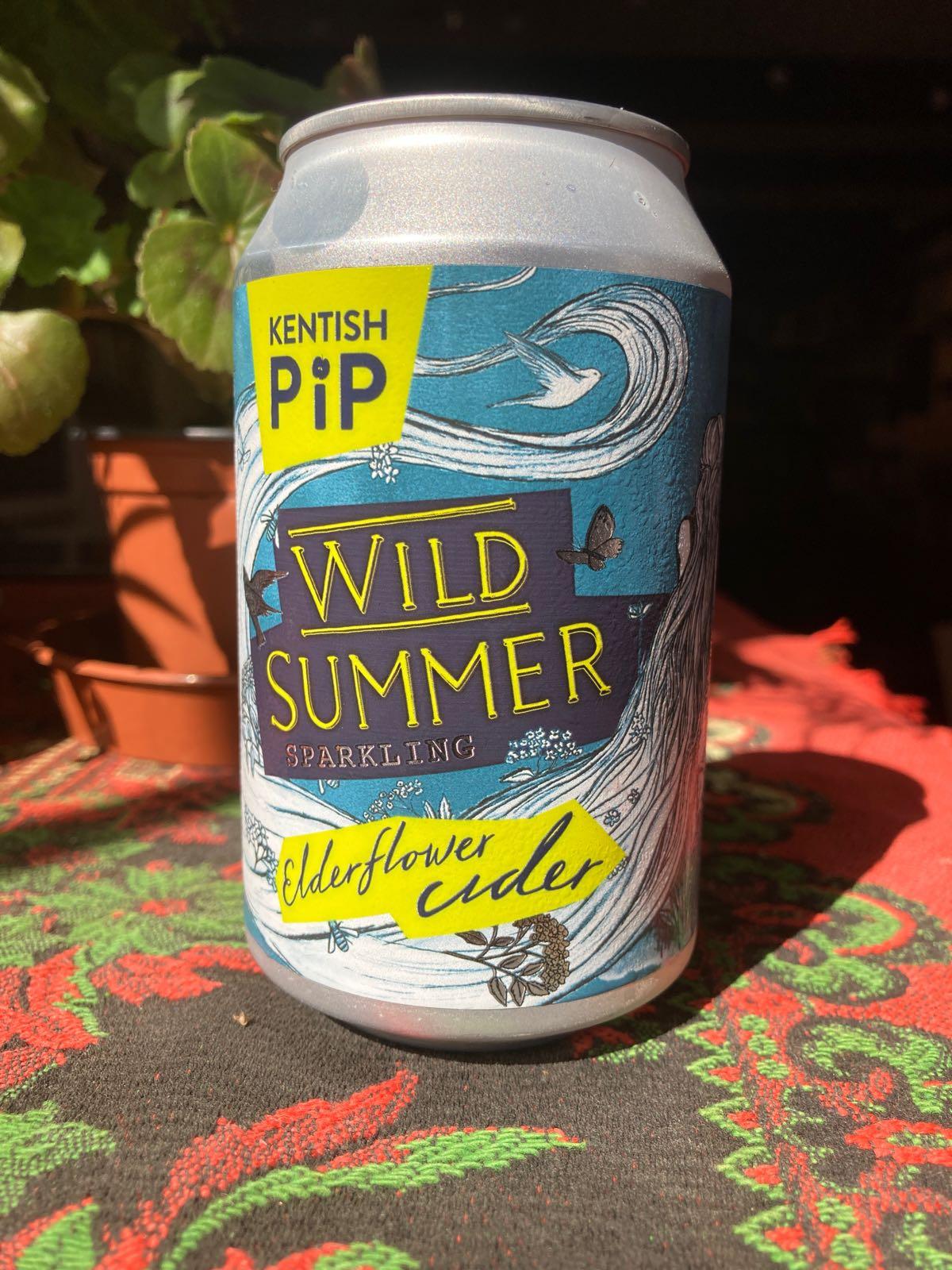 Kentish Pip - Wild Summer (4% Sparkling Elderflower Cider)