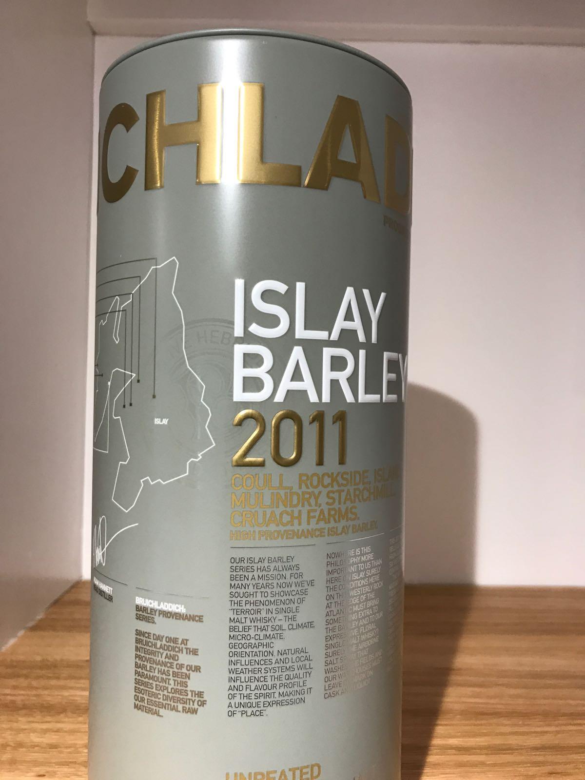 Bruichladdich: Islay Barley 2011
