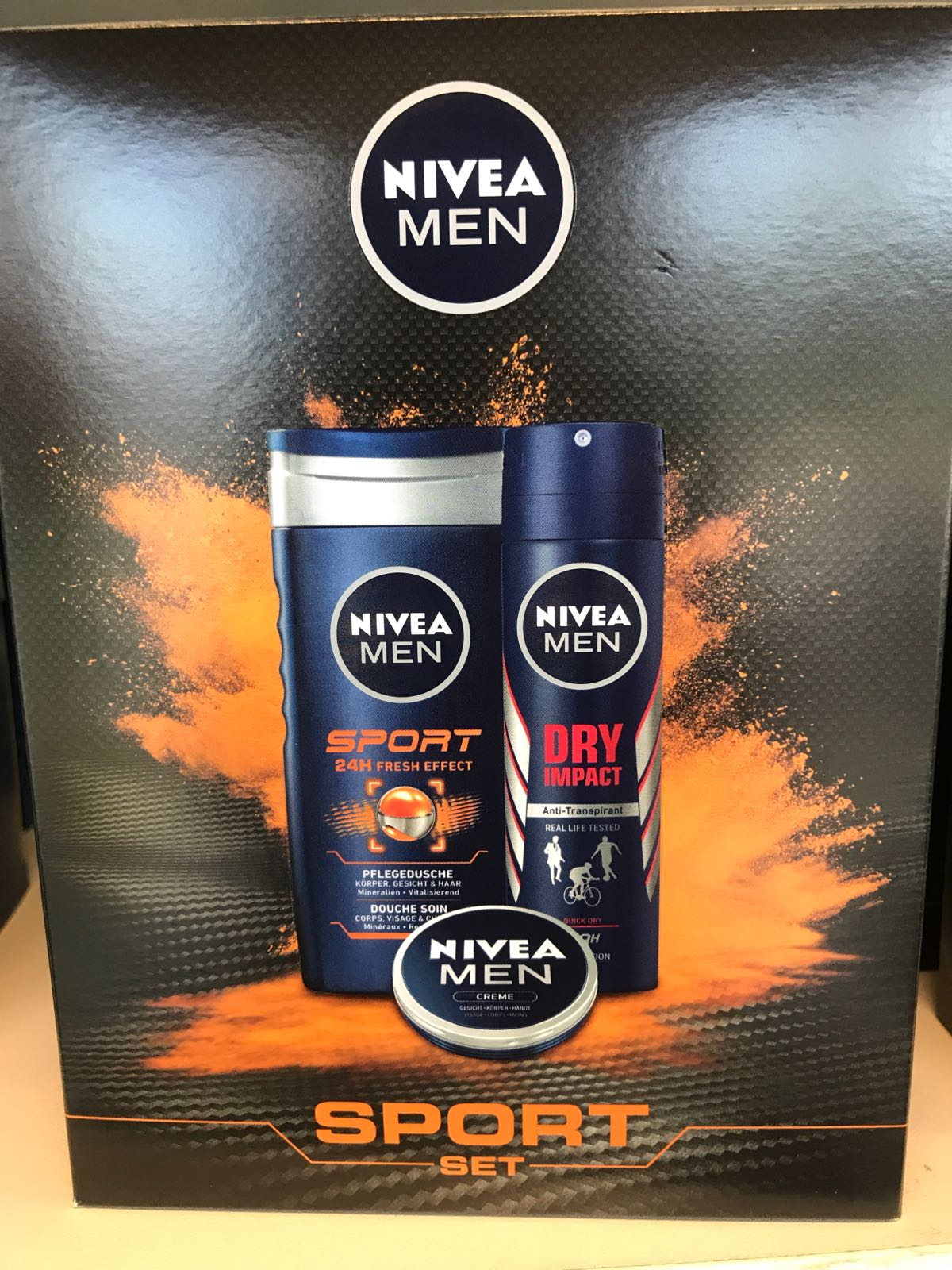 Nivea GP sport Deodorant 150ml +Dusch
