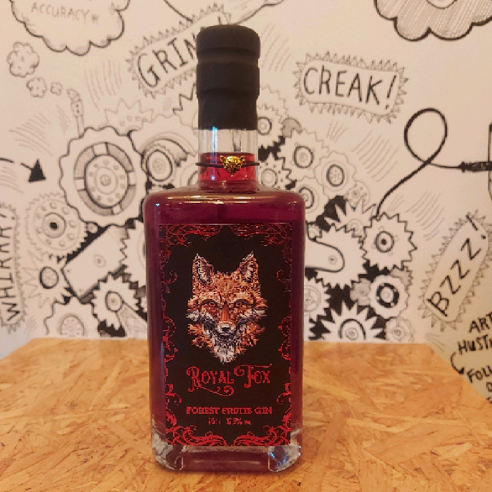 Royal Fox Forest Fruits Gin 37.5%