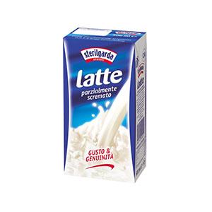 Semi-skimmed UHT milk Sterilgarda