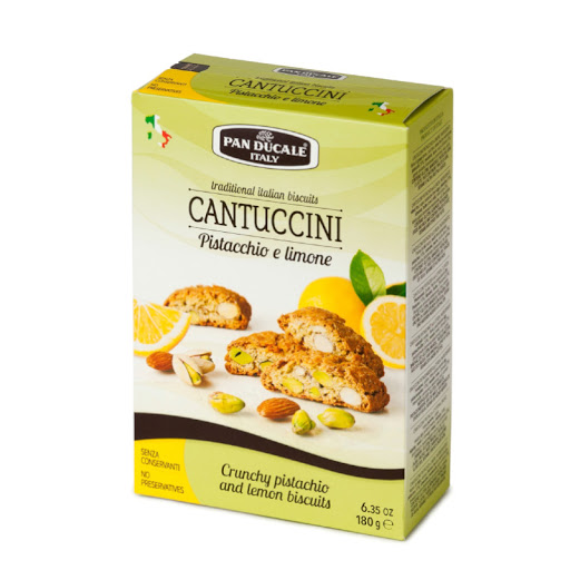 Cantucci Pistacchio & Lemon Pan Ducale