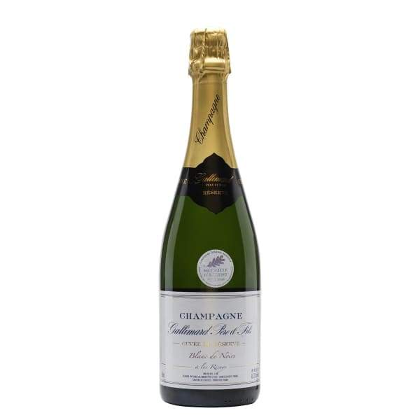 Champagne Cuvée de Réserve, Gallimard (half bottle)