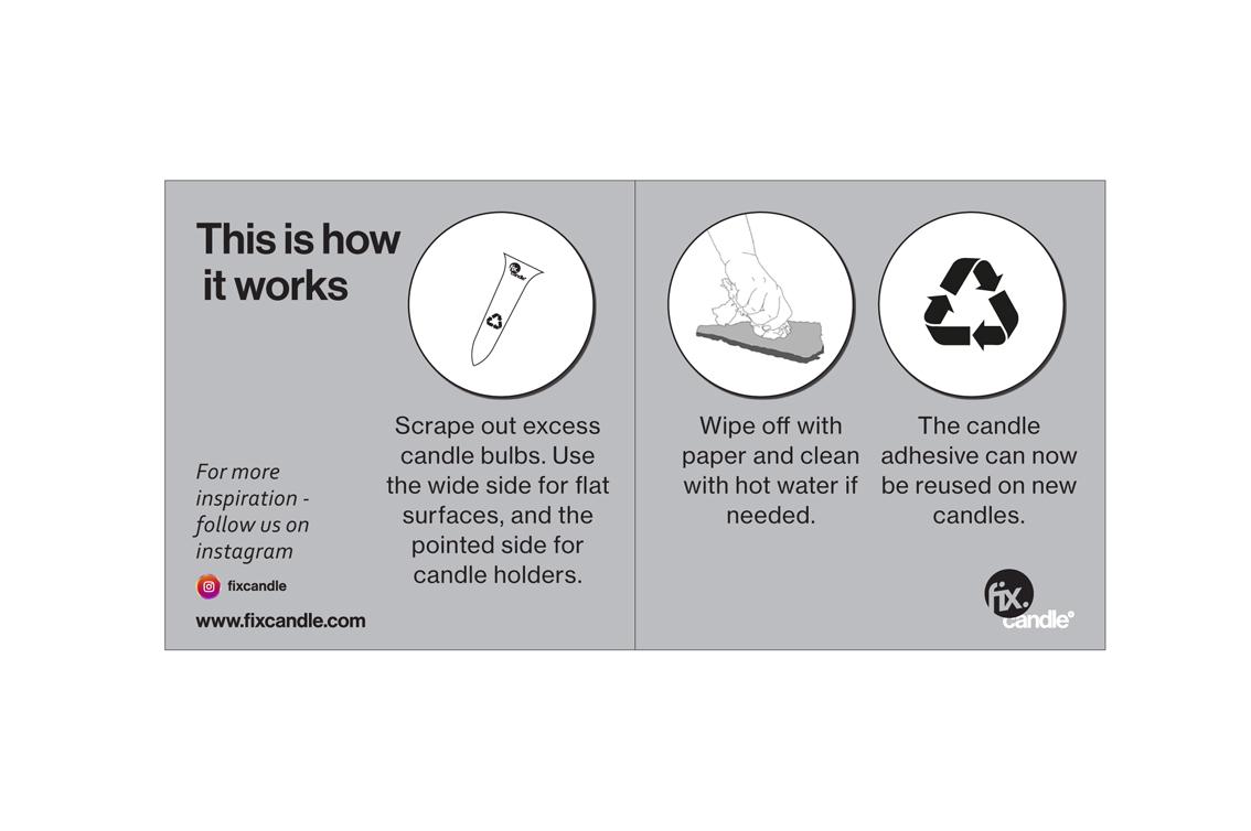 FixCandle återvinningsskrapa
