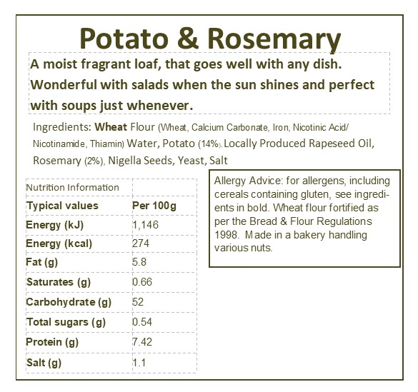 Potato & Rosemary