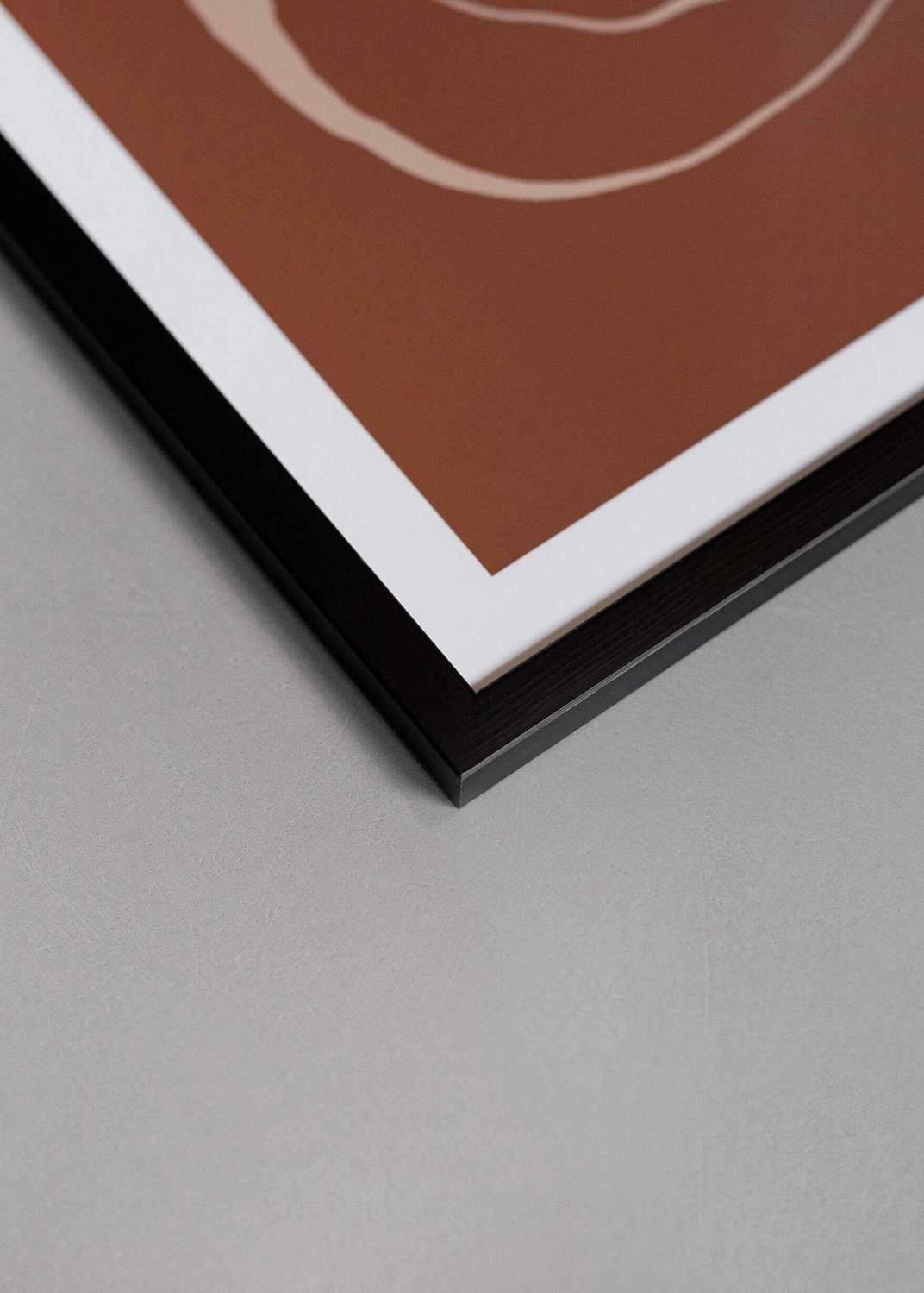 Ram svart, 30x40cm