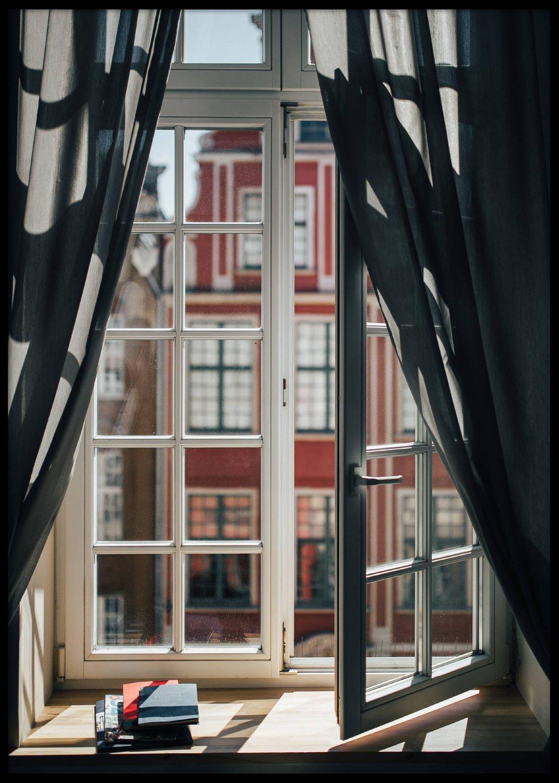 Fönster, Poster 50x70cm