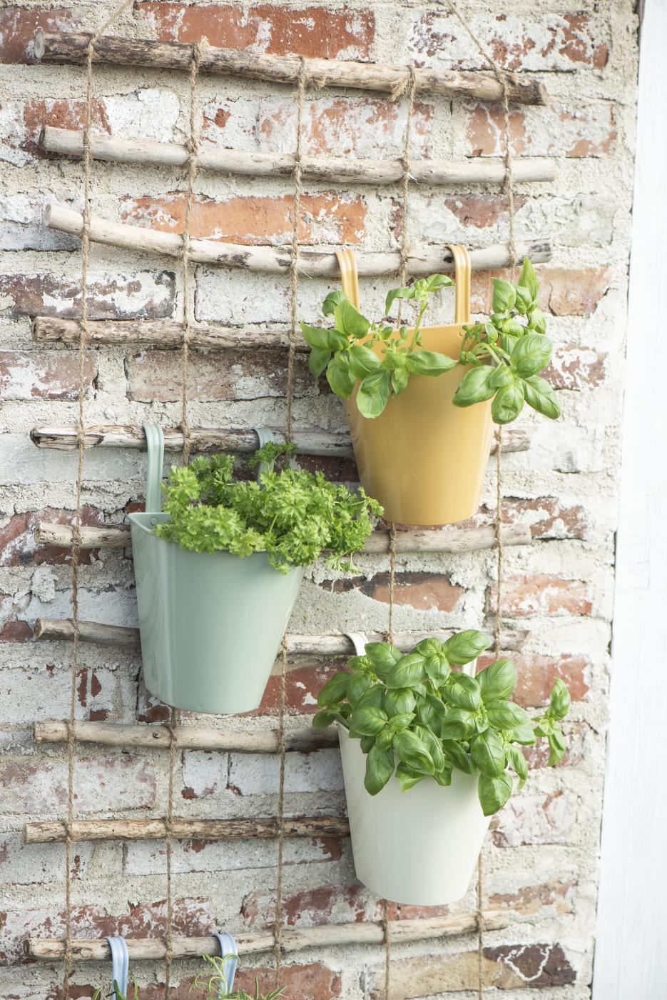 Kruka balkonglåda grön, IB Laursen