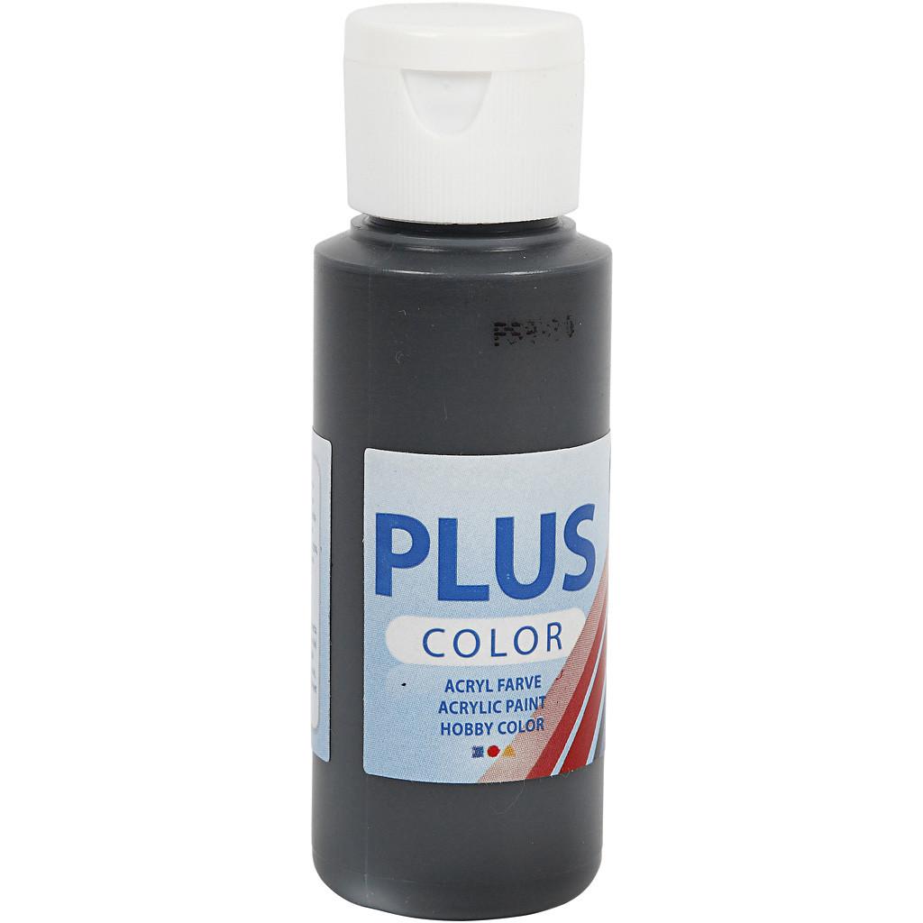 Färg akryl Plus Svart