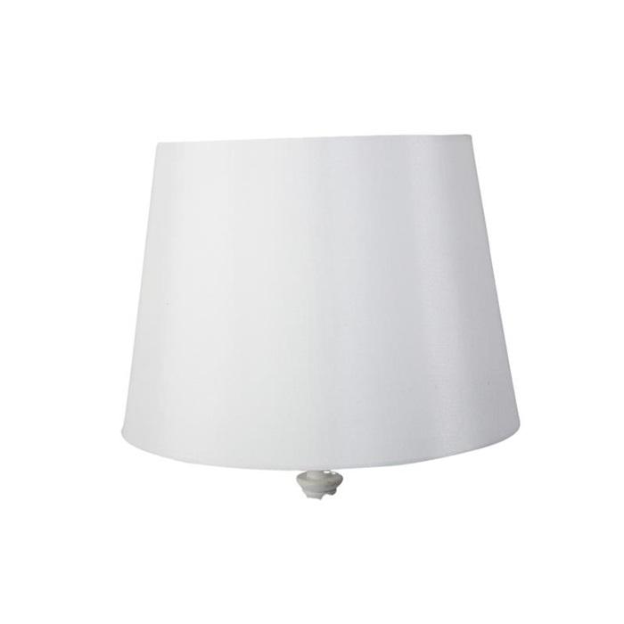 Lampskärm XL Silke vit