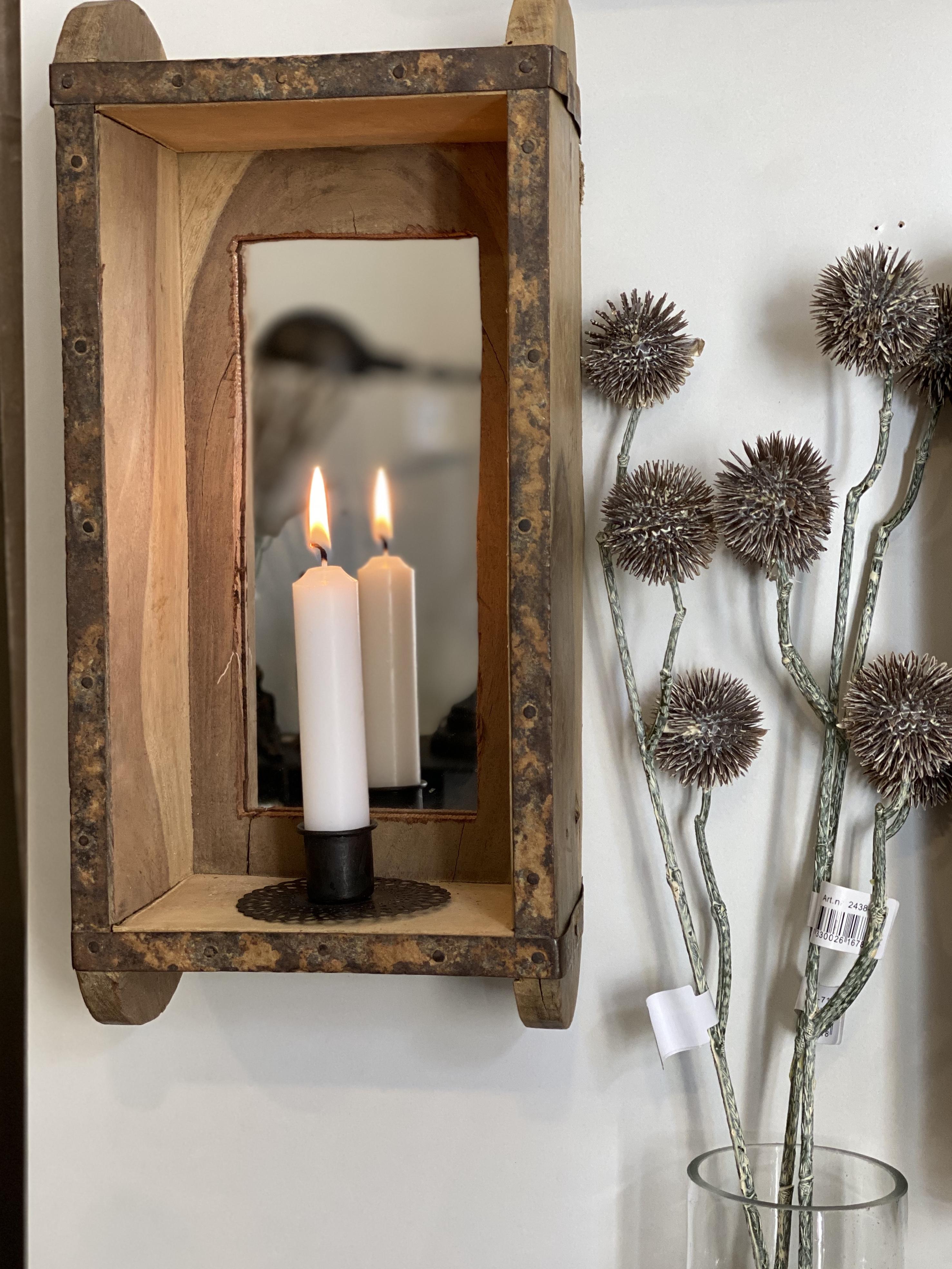Hylla/låda m. spegel, Affari