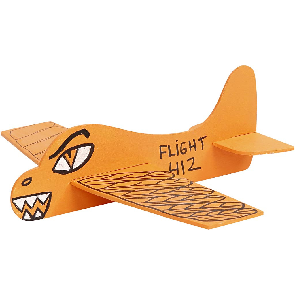 Flygplan för målning