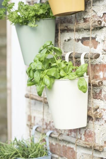 Kruka balkonglåda grädde, IB Laursen
