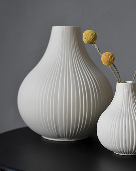 Ekenäs XL vas i keramik Storefactory
