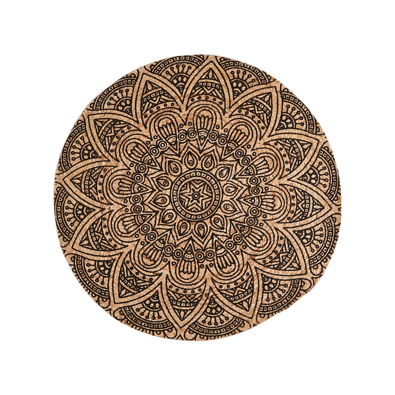 Matta rund i jute, Ø120 cm, Affari of Sweden
