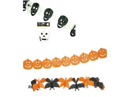 Girlang Halloween Pumpa/skelett