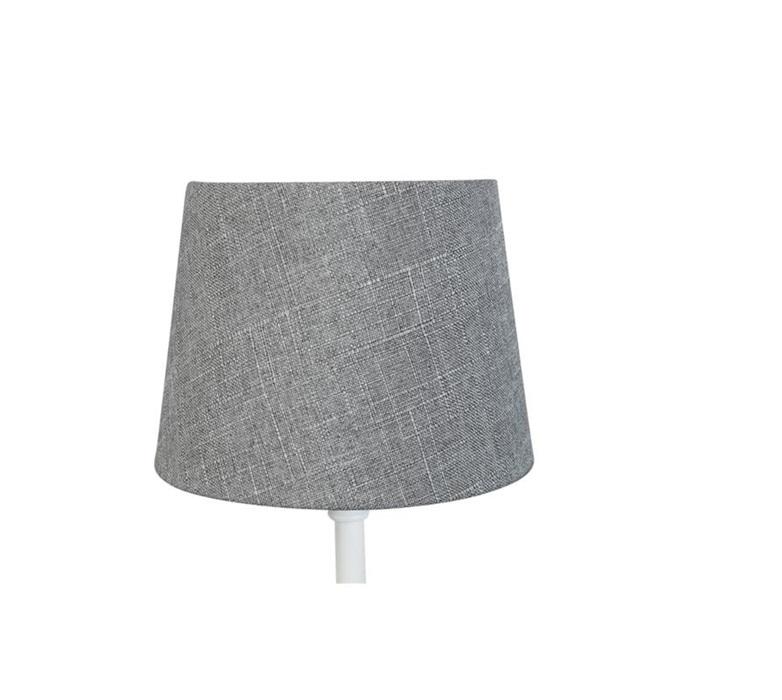 Lampskärm linne grå, mellan