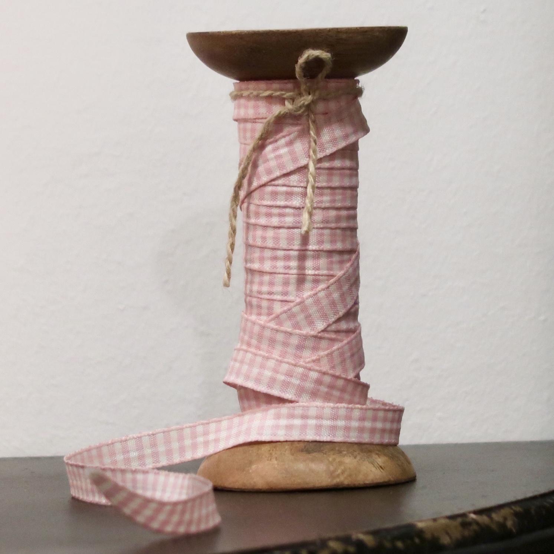 Band rosa/vit