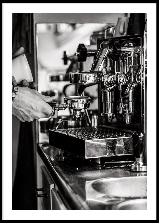 Brygga kaffe, Poster 30x40cm
