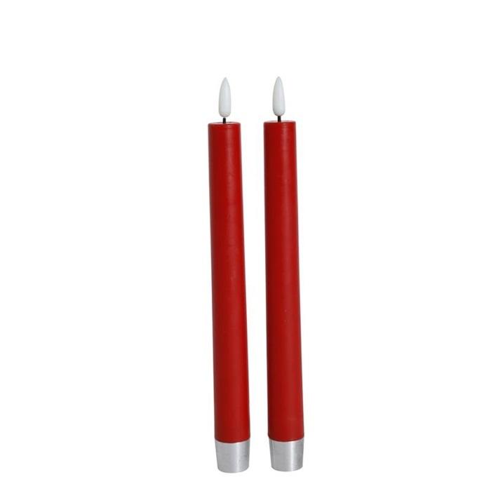 Batteriedrivna ljus 2-pack röda