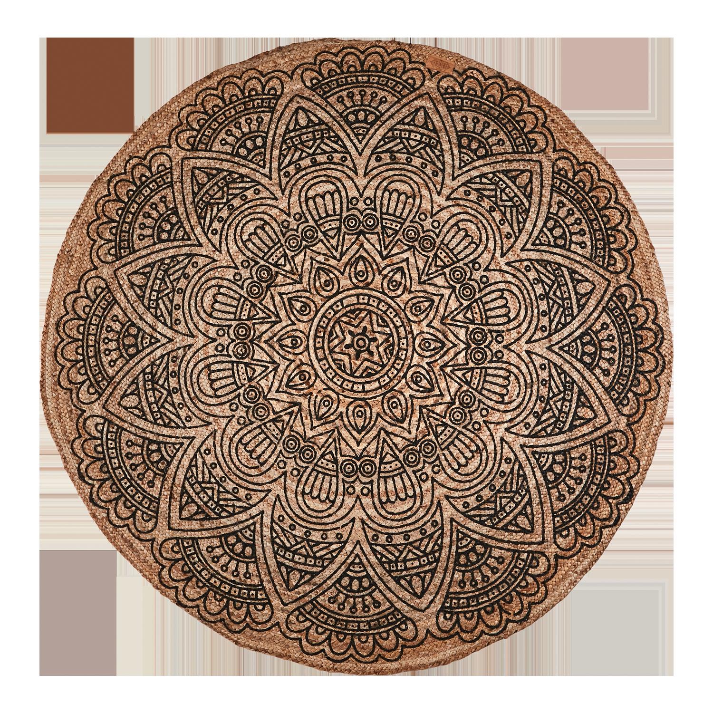 Matta rund, Ø150 cm, Affari of Sweden