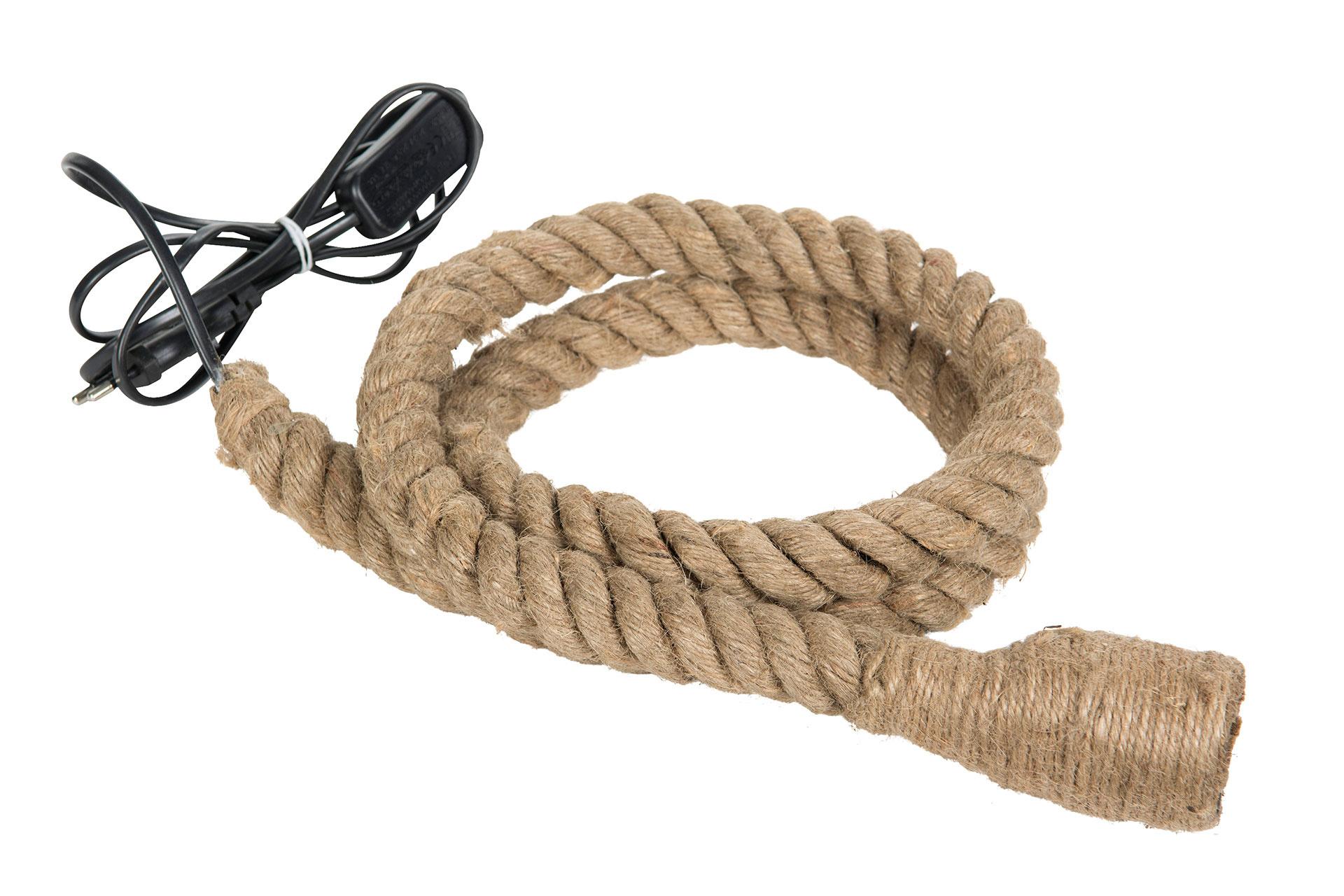 Lampa på rep