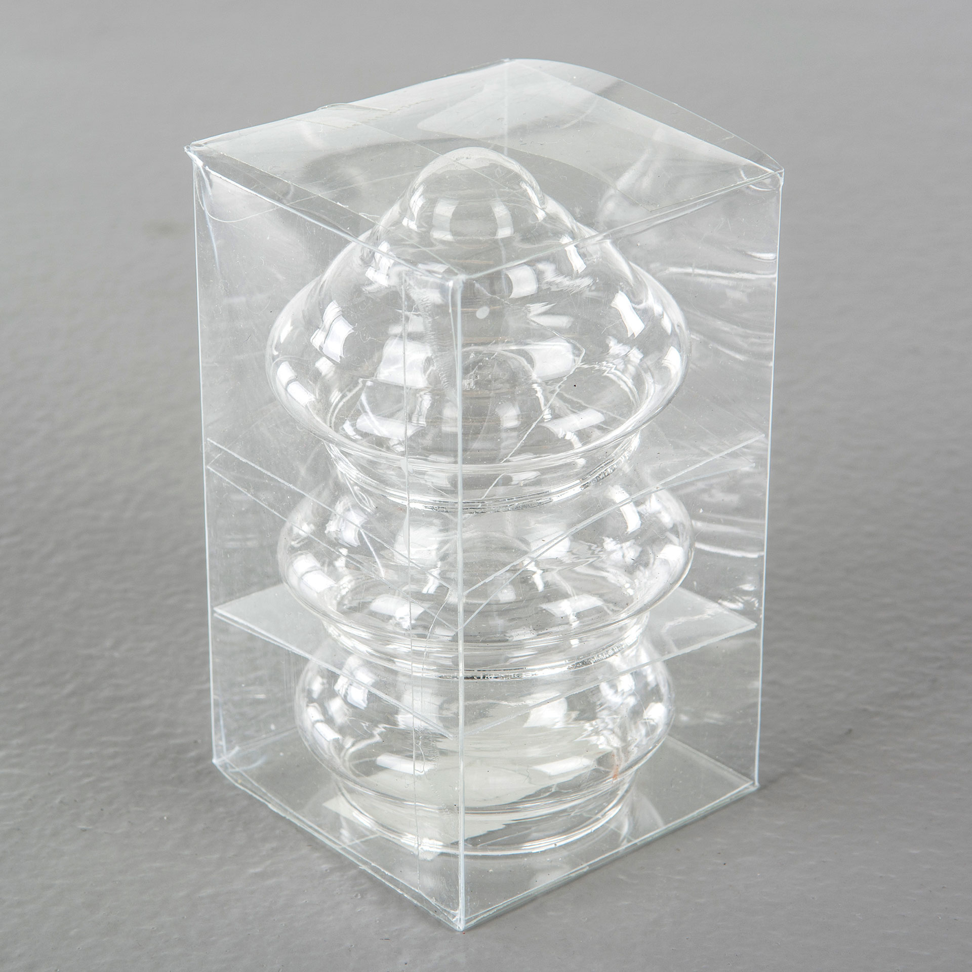 Flytkopp glas x 3
