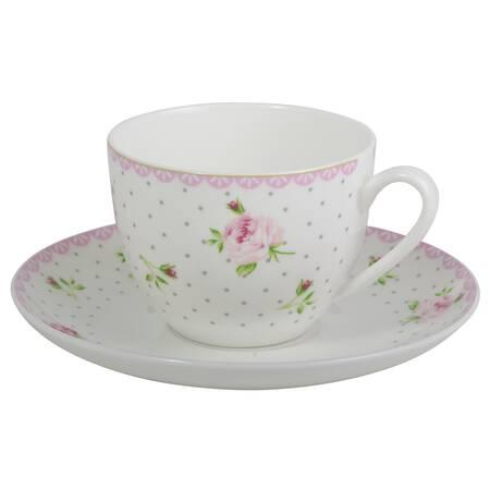 Tekopp/kaffekopp IB Laursen blommor