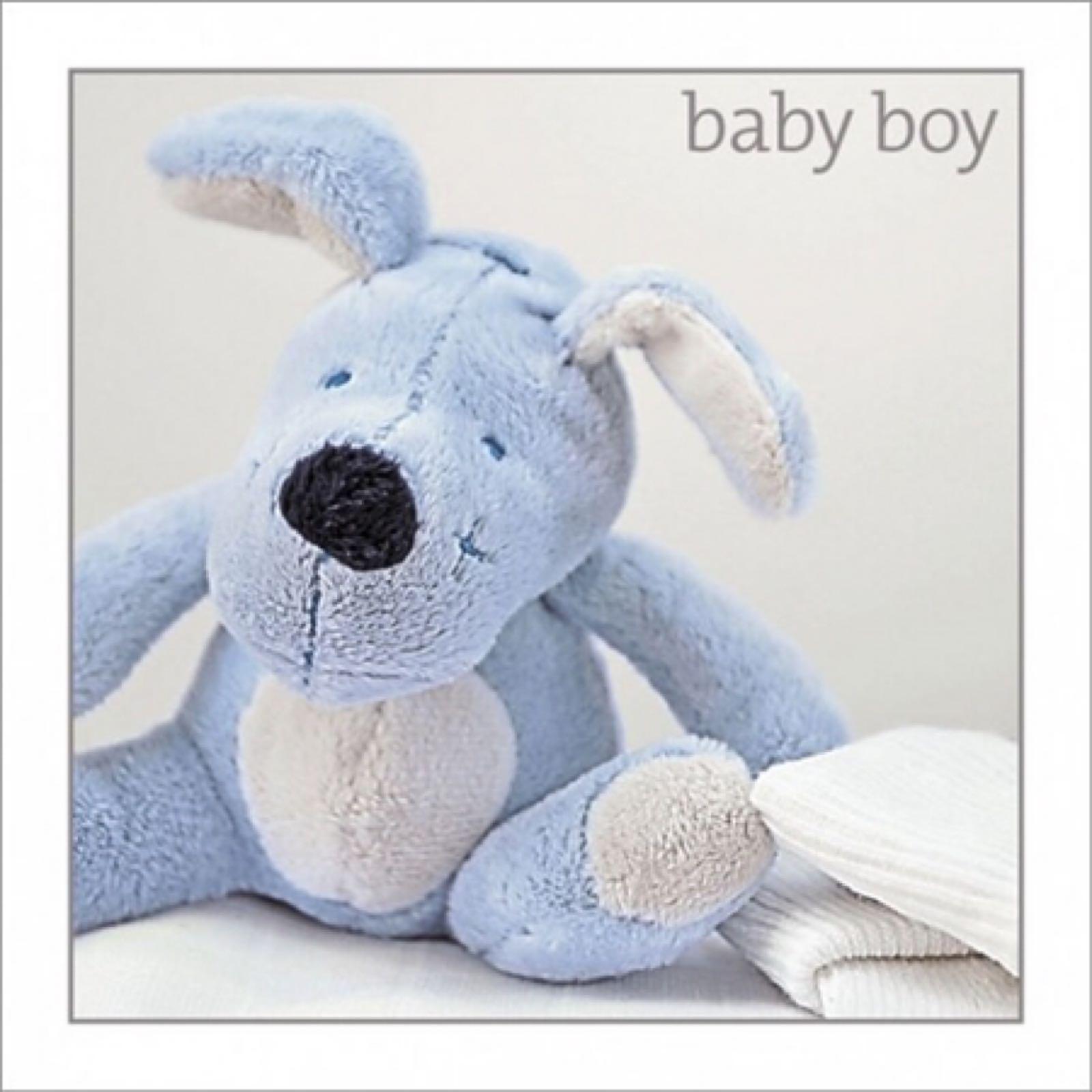 'Baby Boy' Silver Edition Card