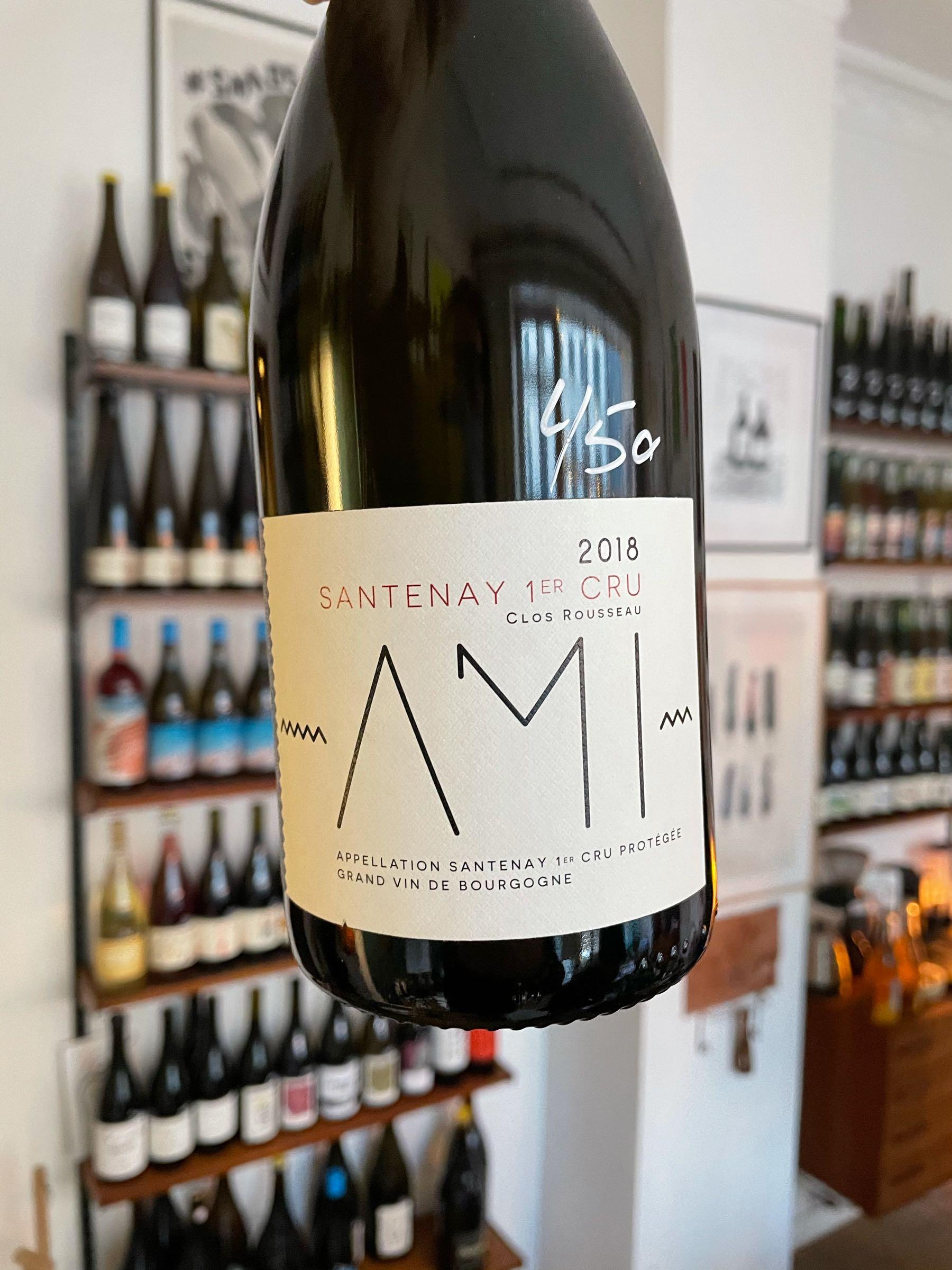 "Santenay 1er Cru ""Clos Rousseau"" 2018 - AMI"